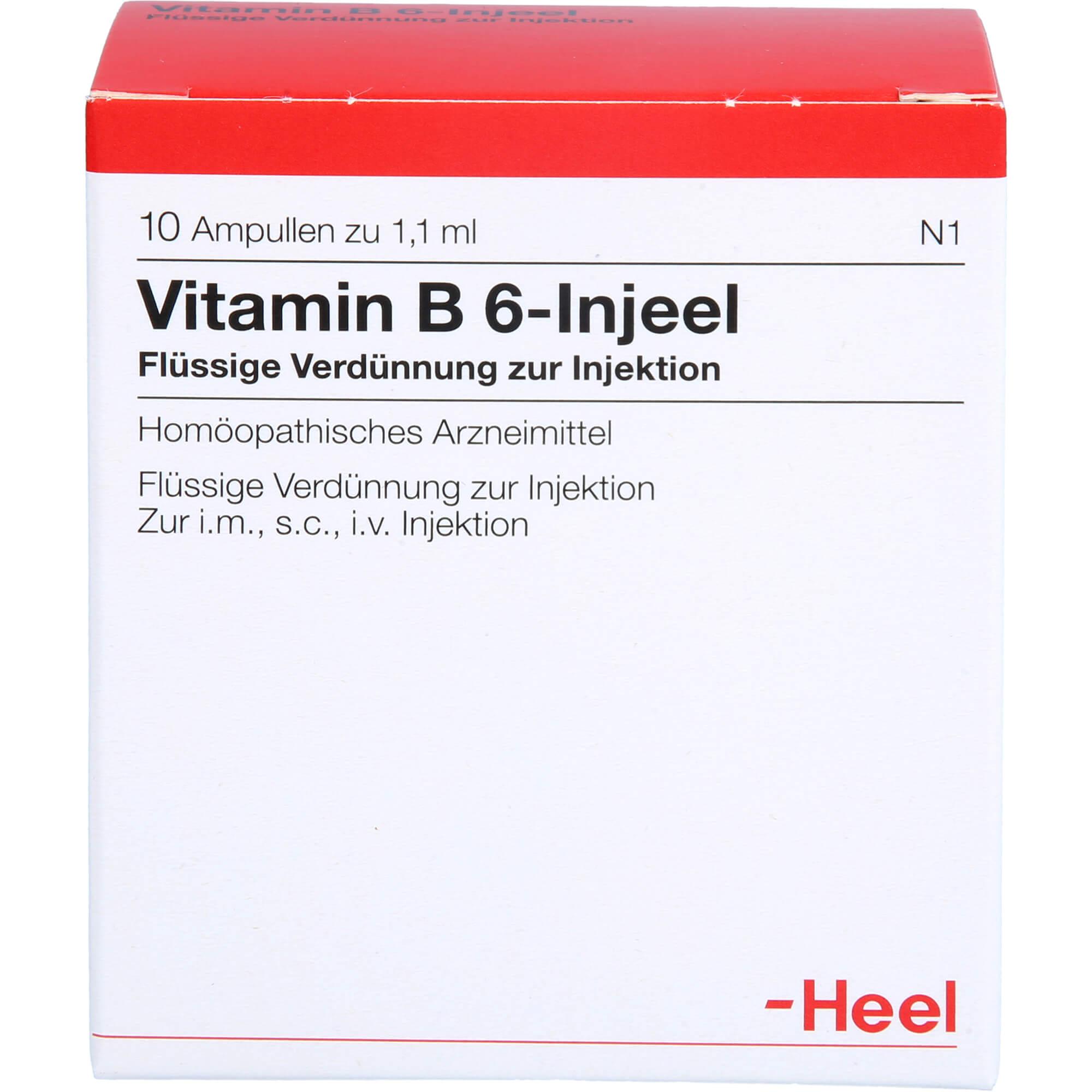 VITAMIN B6 INJEEL Ampullen