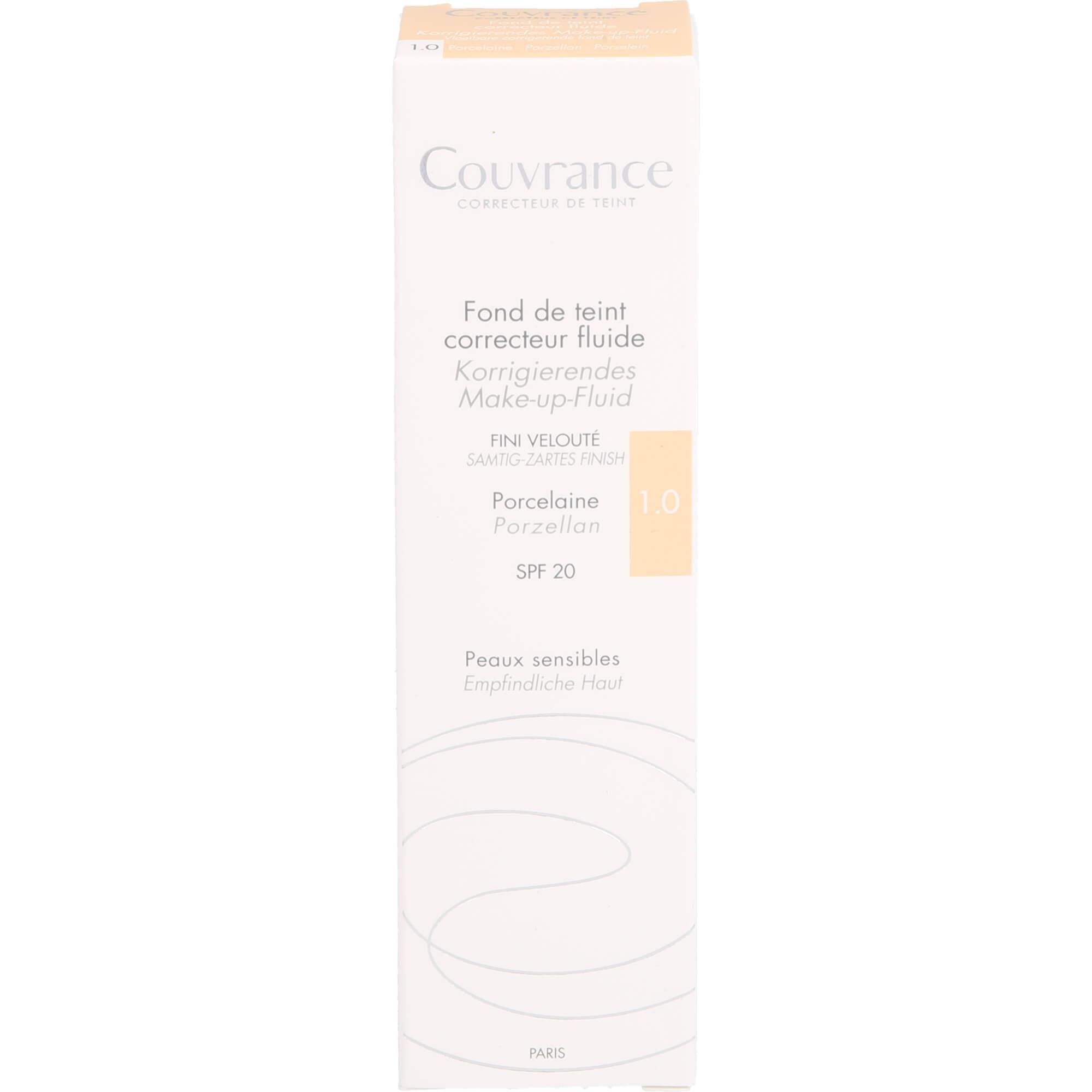 AVENE Couvrance korrigier.Make-up Fluid porzel.1.0
