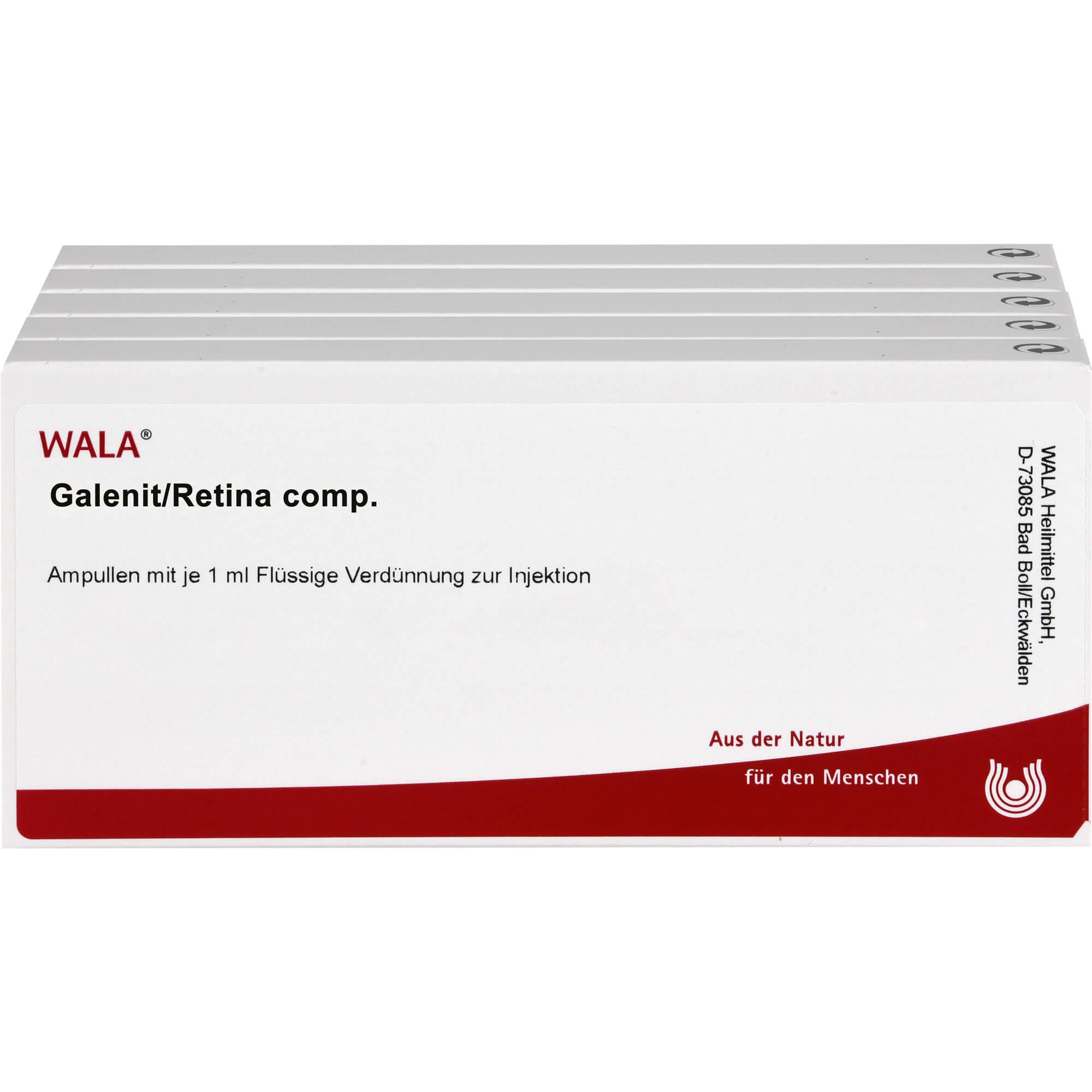 GALENIT/Retina comp.Ampullen