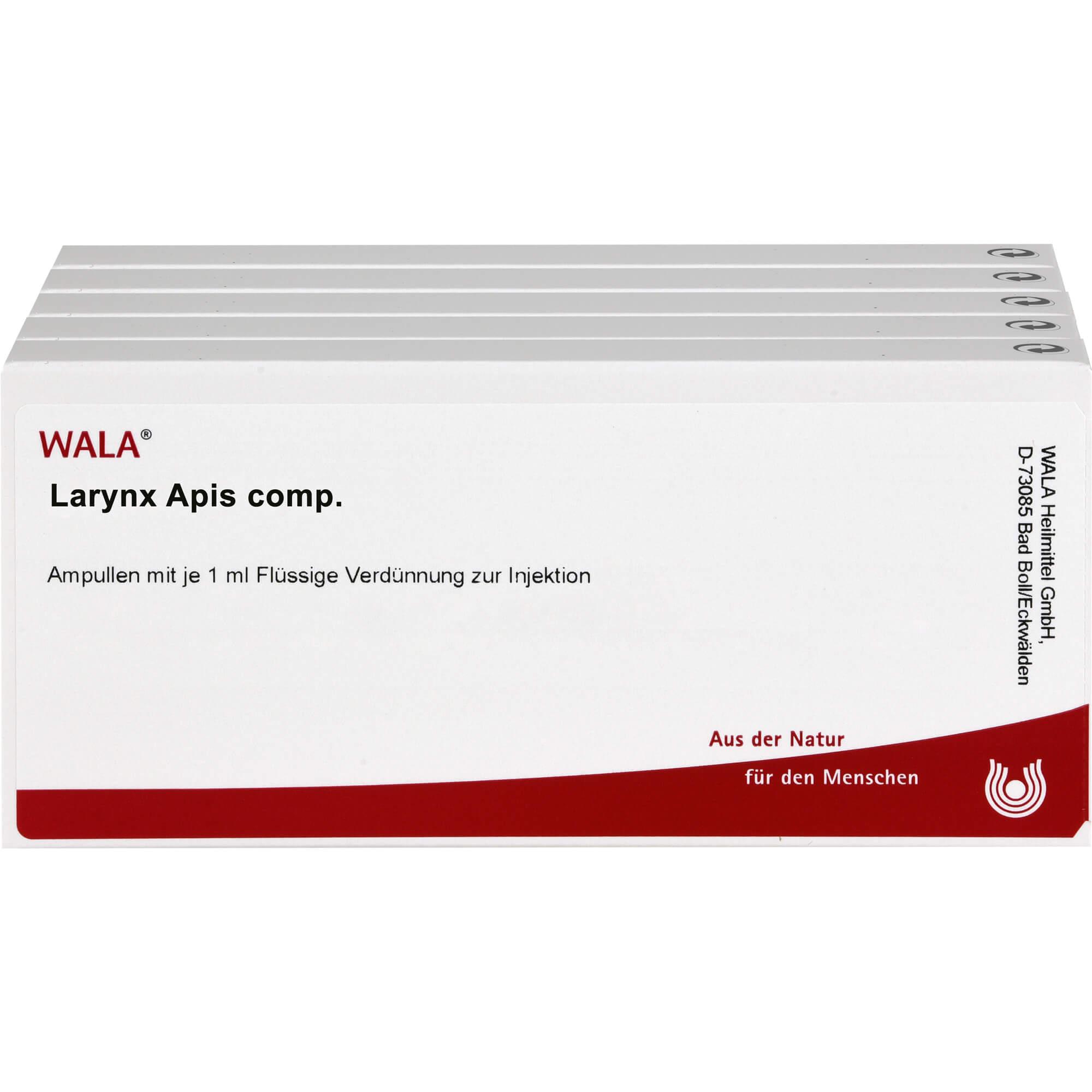 LARYNX/APIS comp.Ampullen