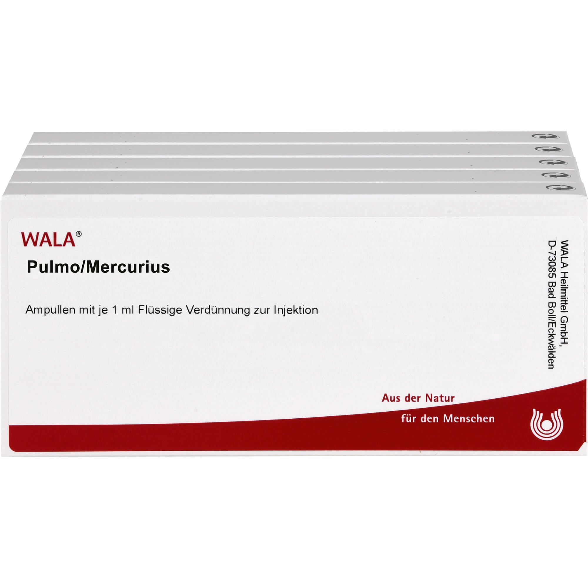 PULMO/MERCURIUS Ampullen