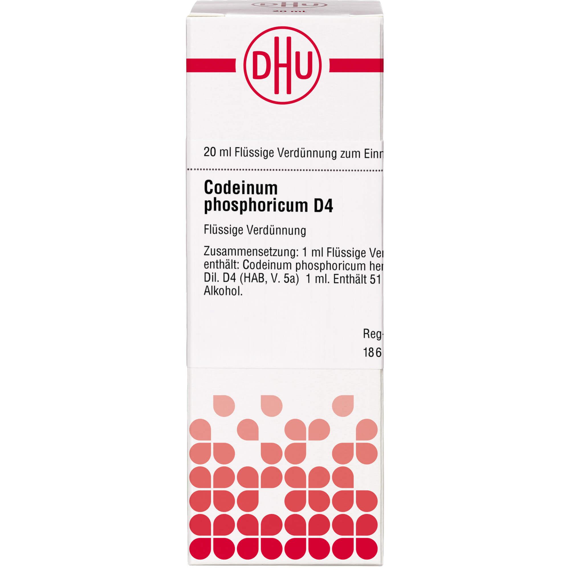CODEINUM PHOSPHORICUM D 4 Dilution