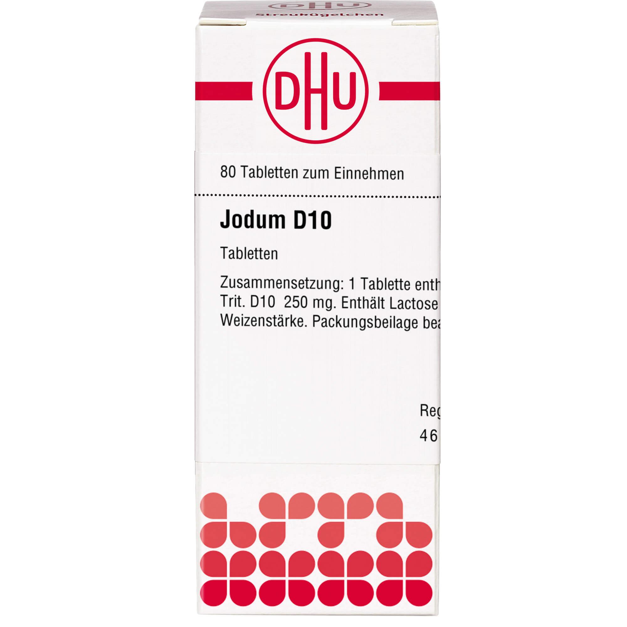 JODUM D 10 Tabletten