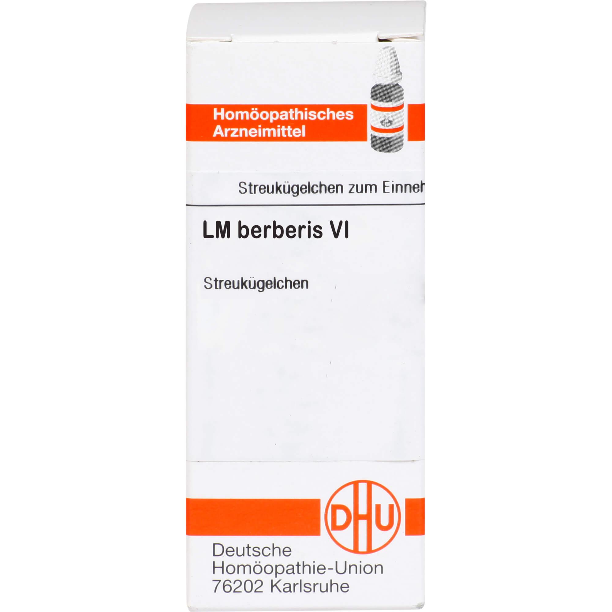 LM BERBERIS VI Globuli