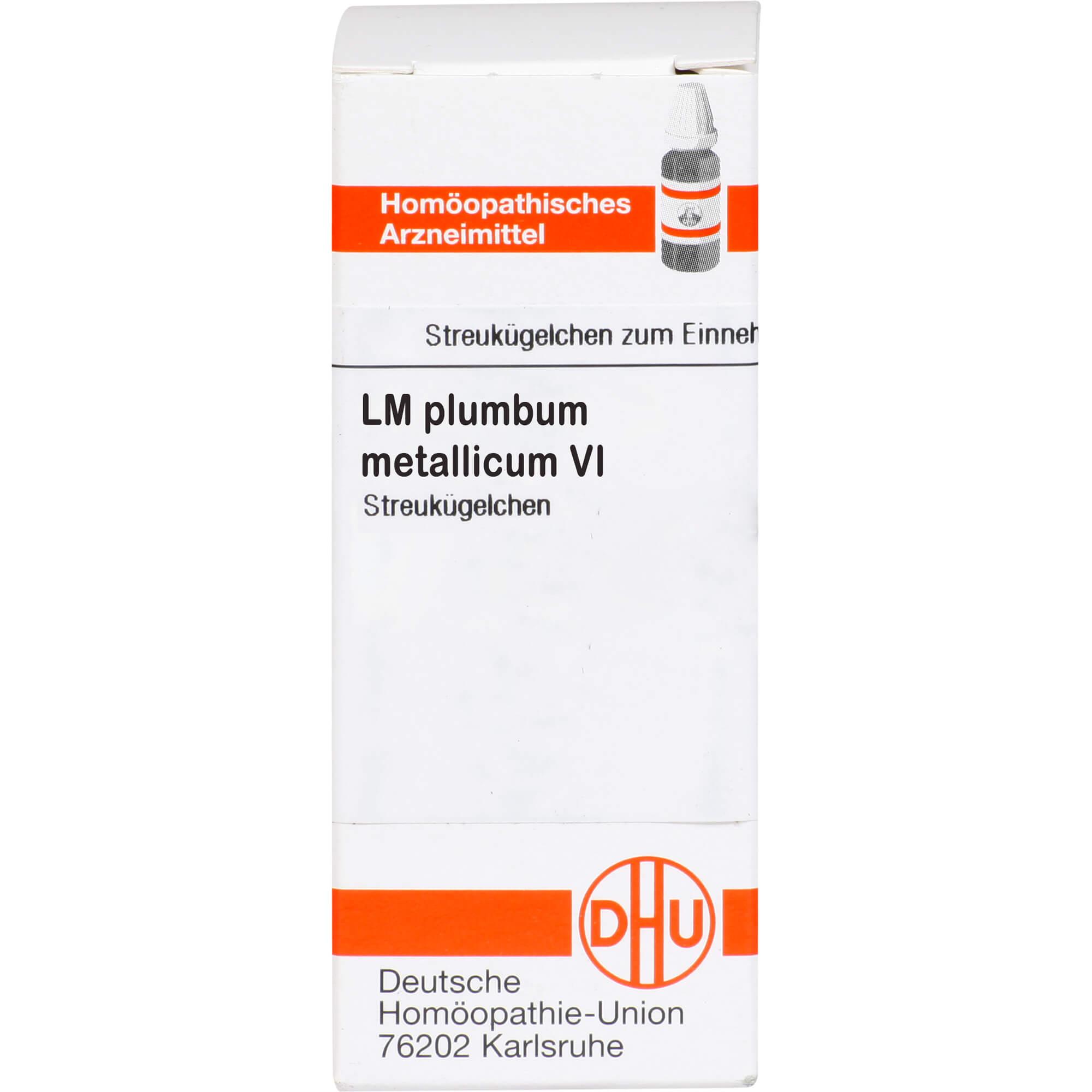 LM PLUMBUM metallicum VI Globuli