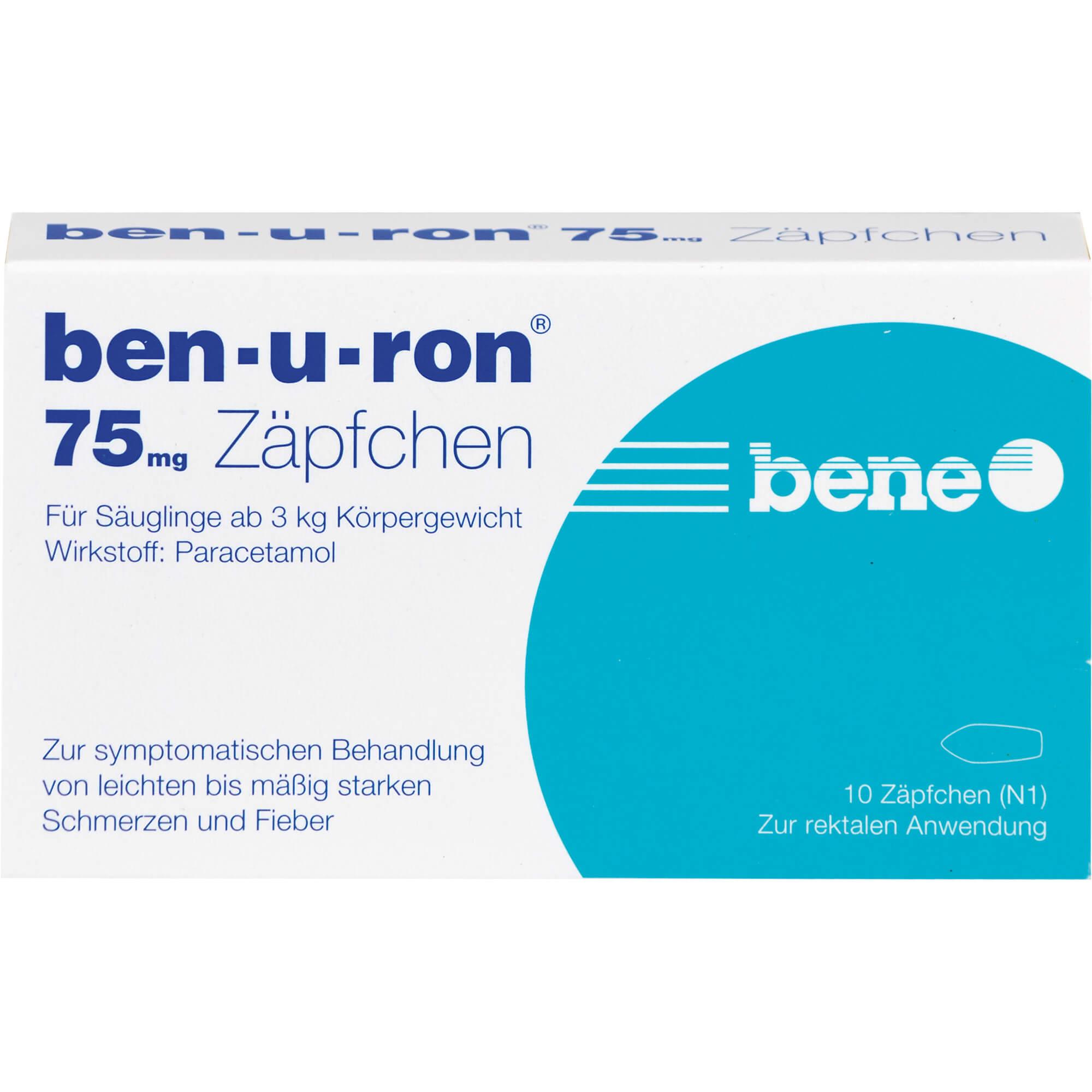 BEN-U-RON 75 mg Suppositorien