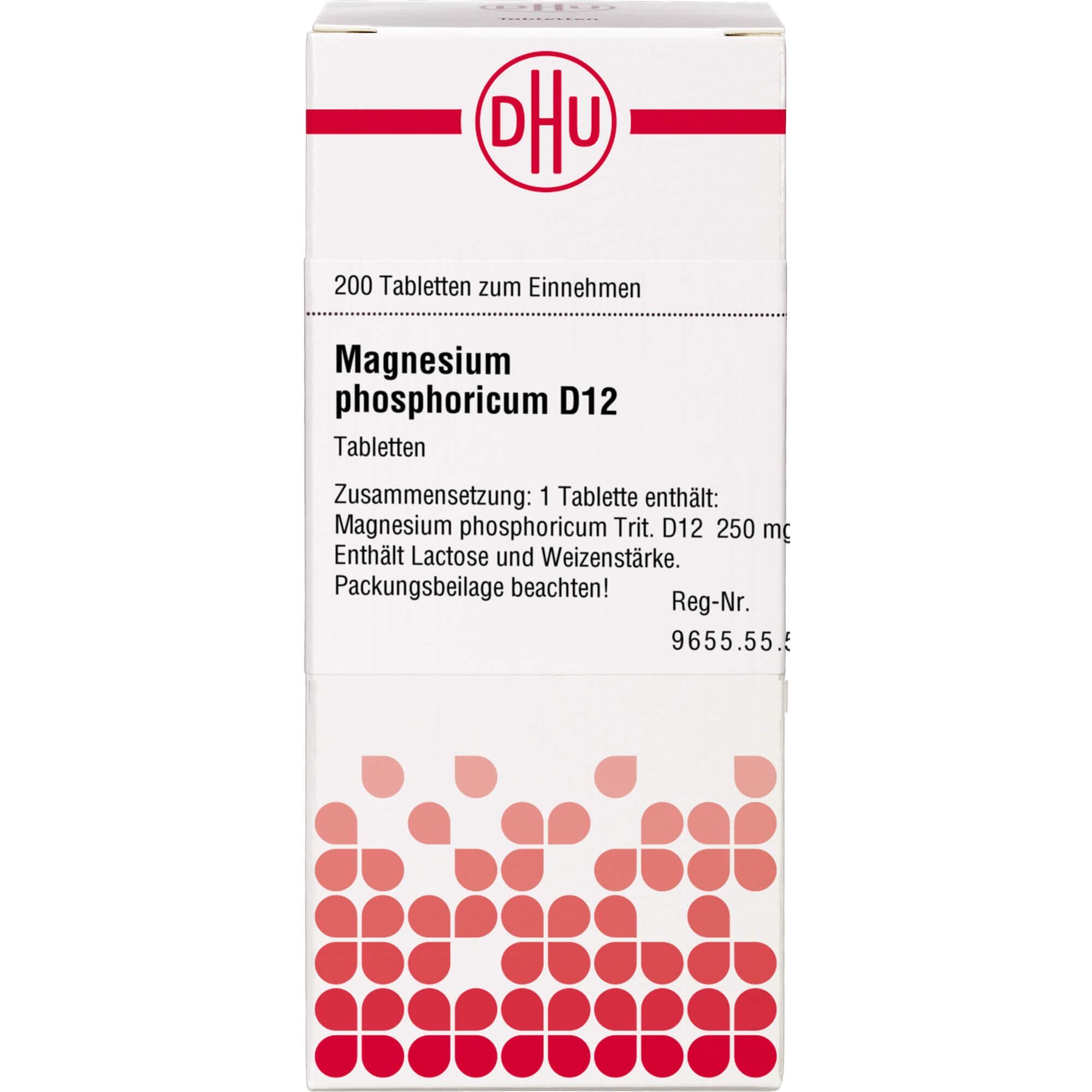MAGNESIUM PHOSPHORICUM D 12 Tabletten