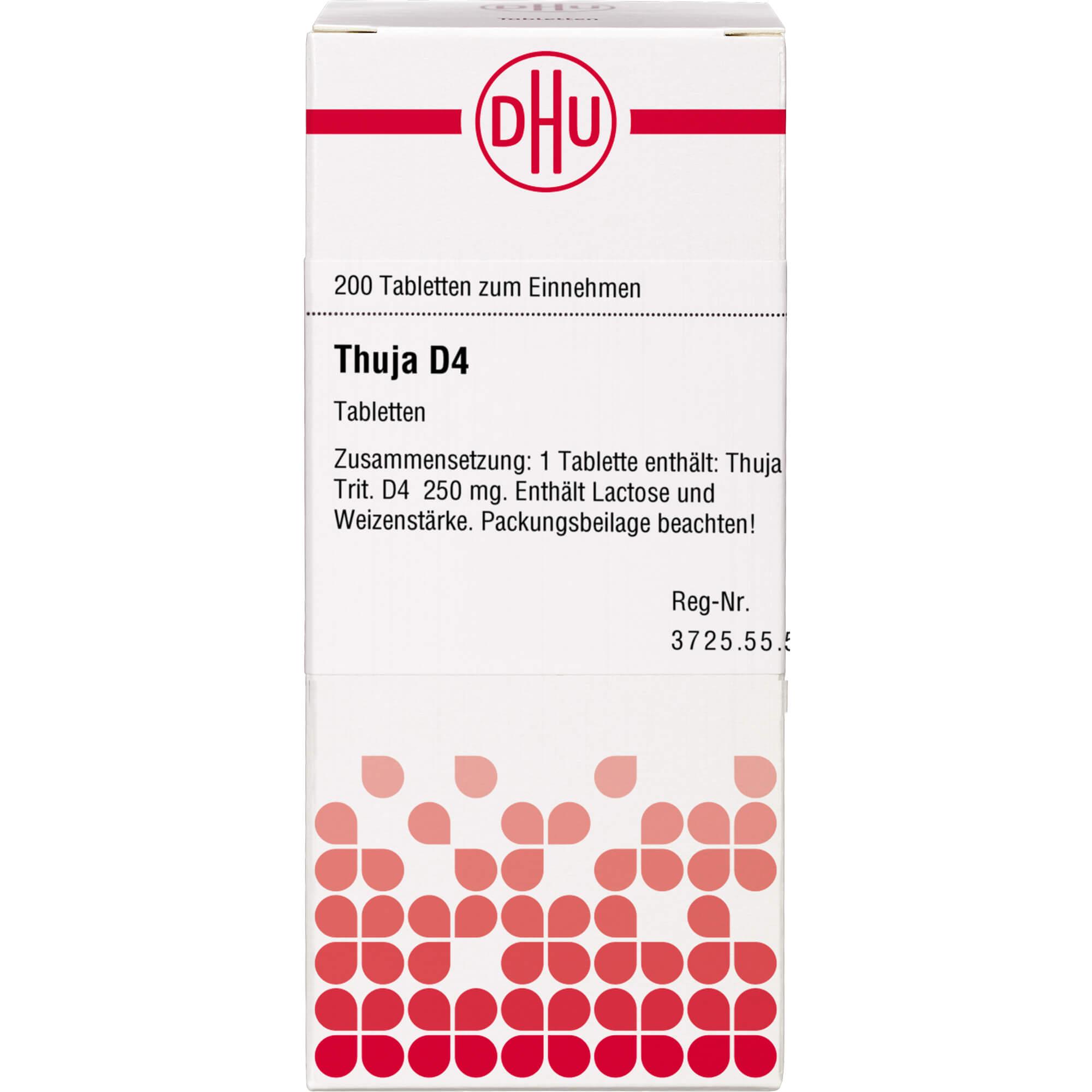 THUJA D 4 Tabletten