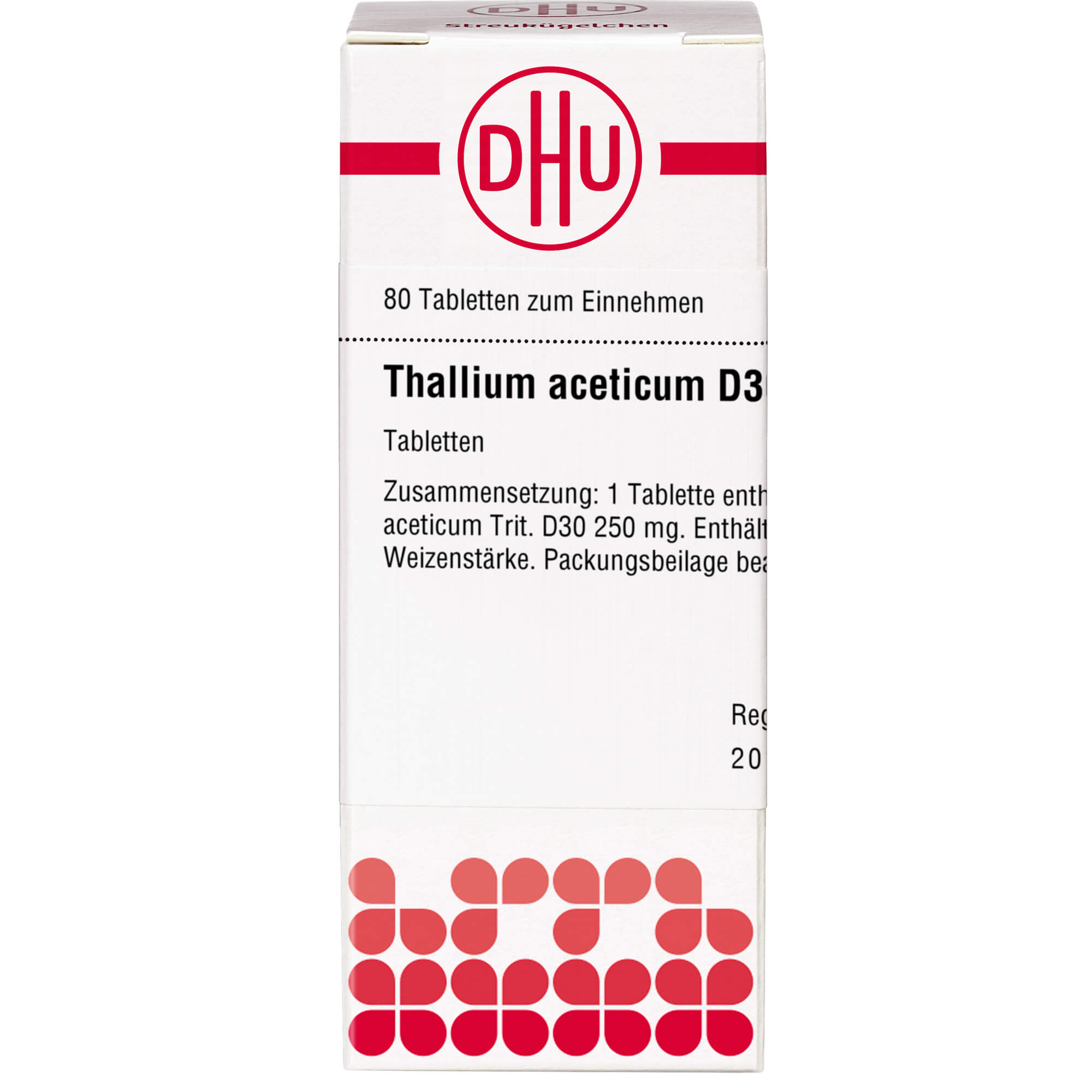 THALLIUM ACETICUM D 30 Tabletten