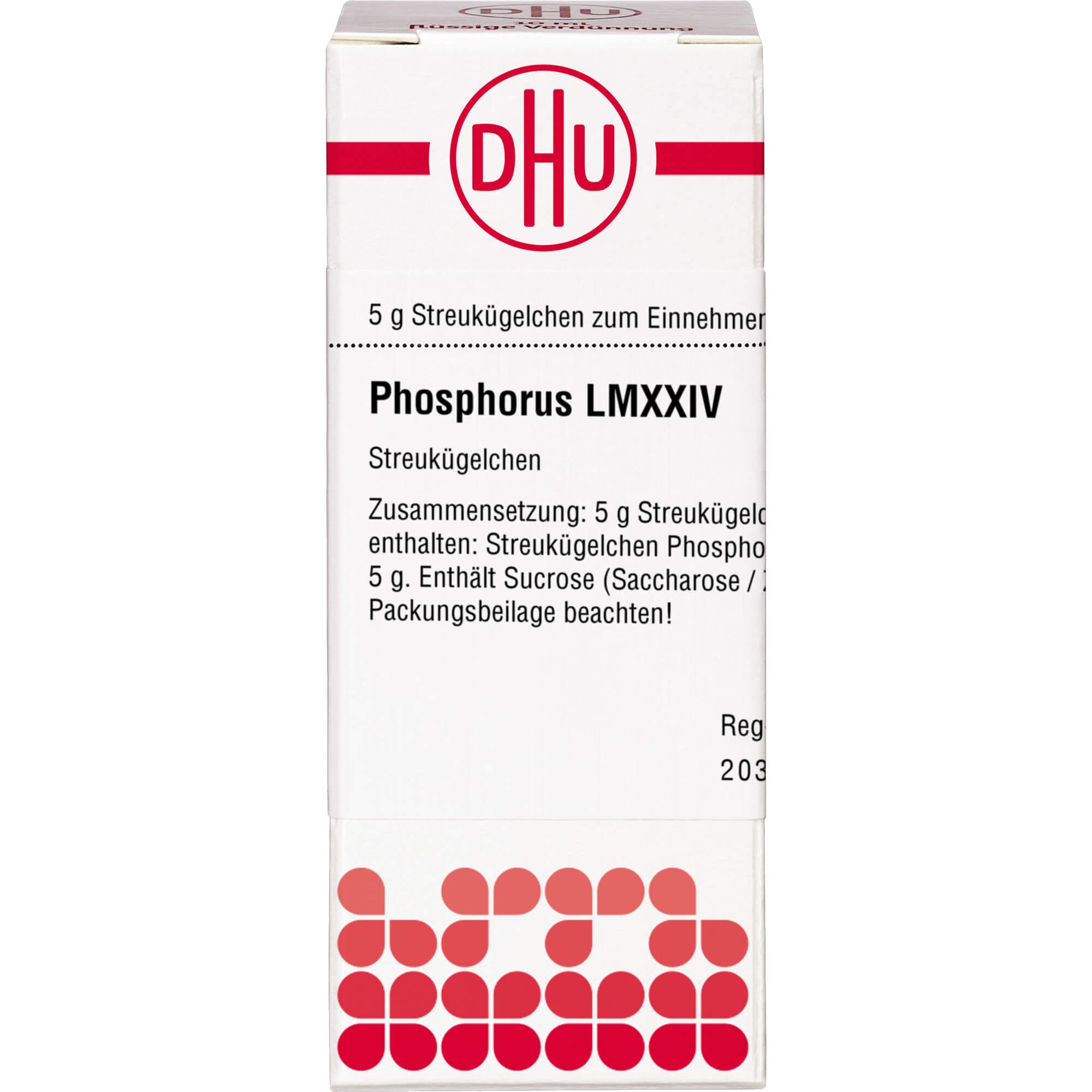 LM PHOSPHORUS XXIV Globuli
