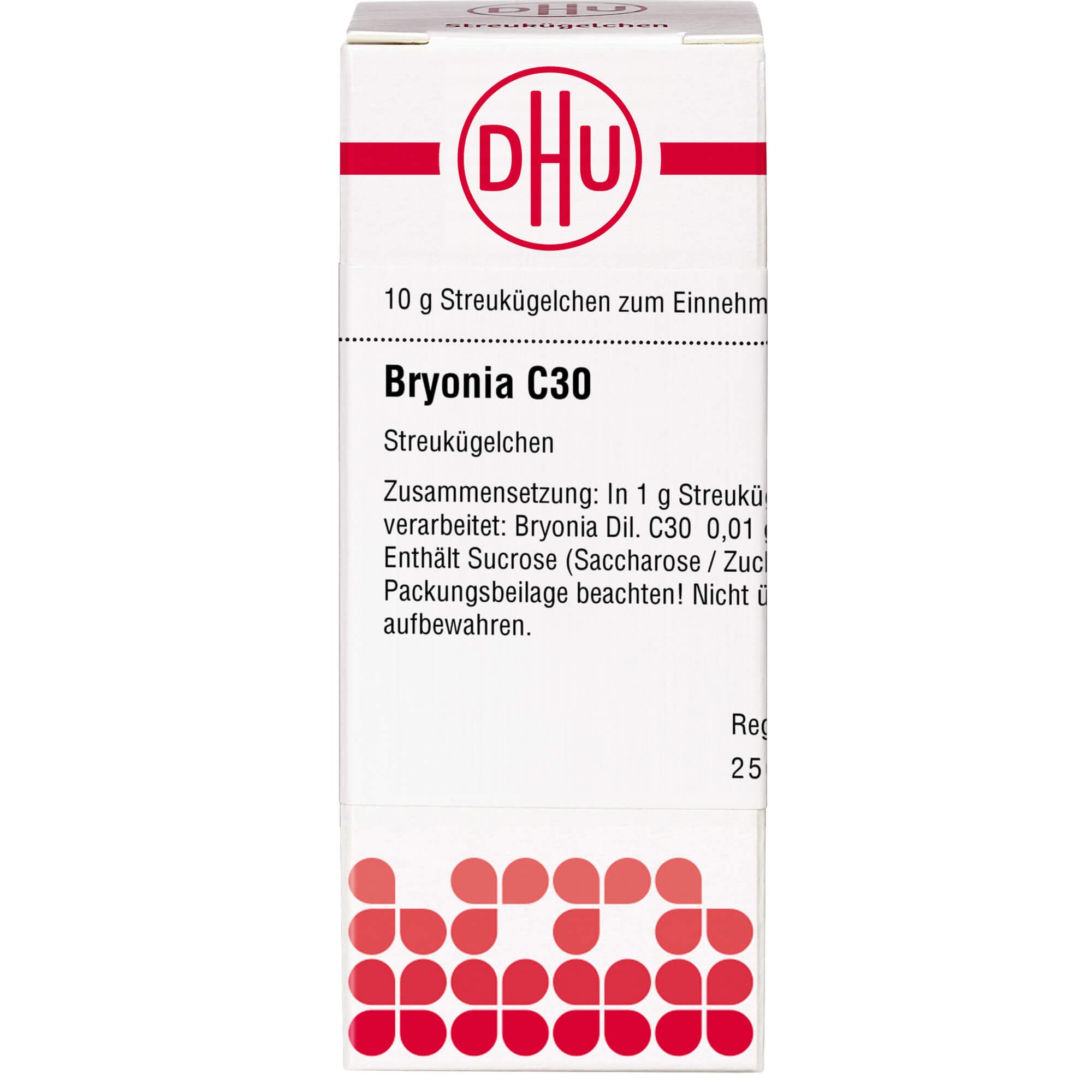 BRYONIA C 30 Globuli