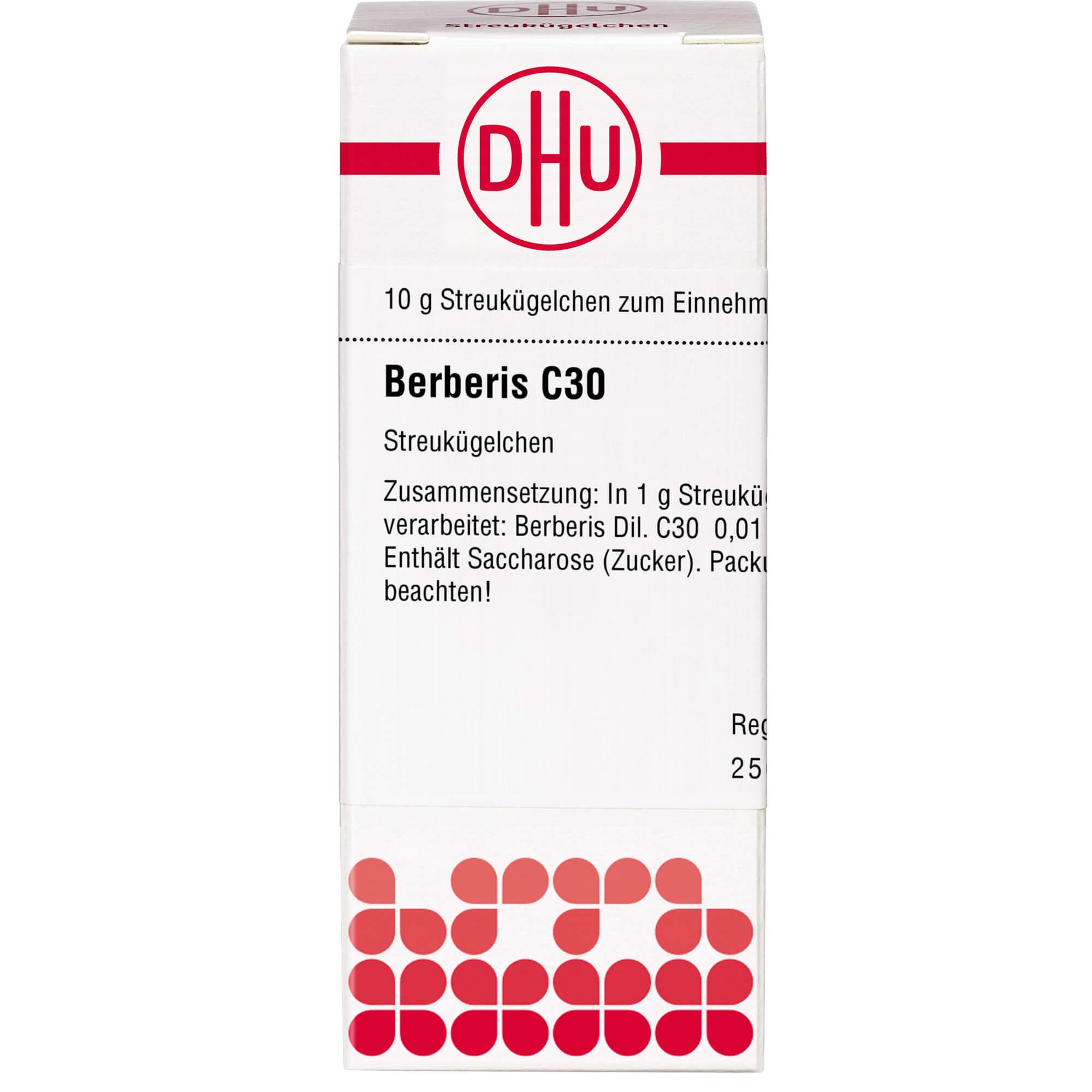 BERBERIS C 30 Globuli