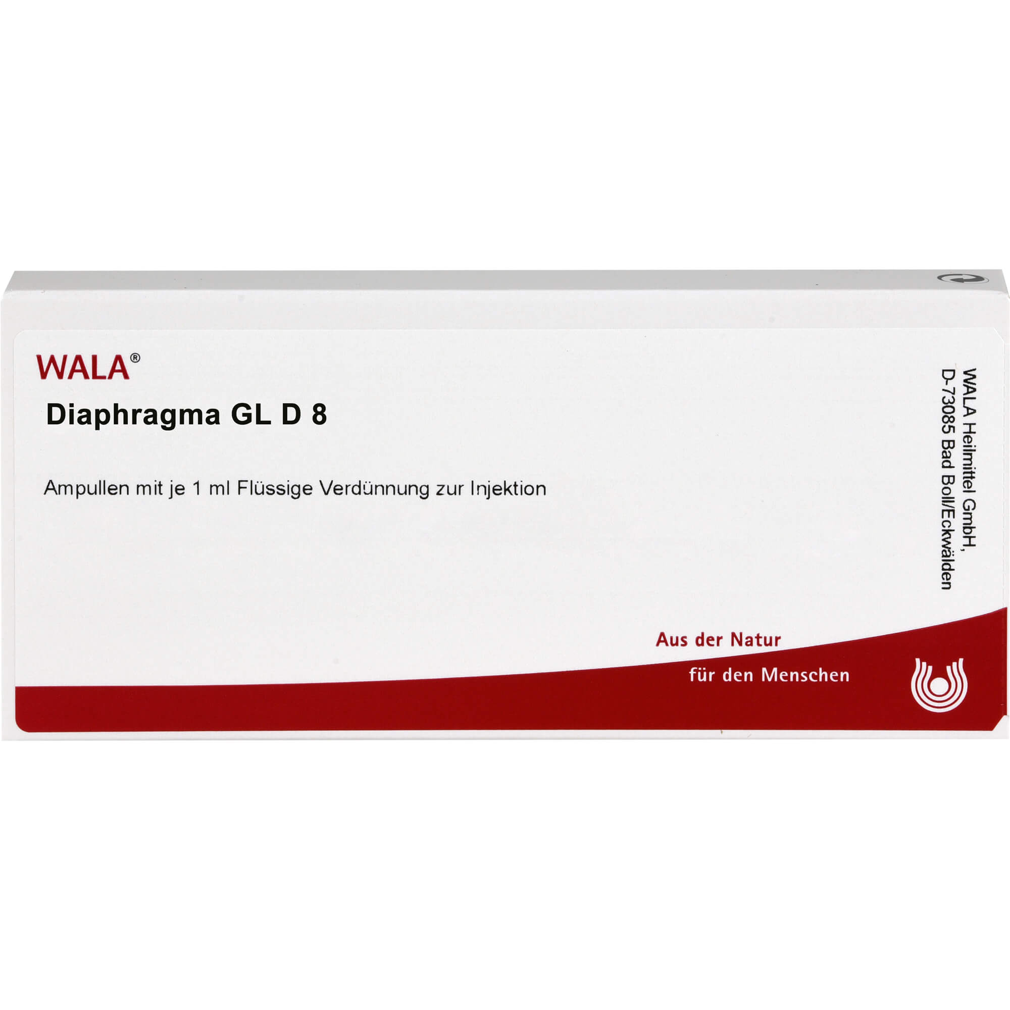 DIAPHRAGMA GL D 8 Ampullen