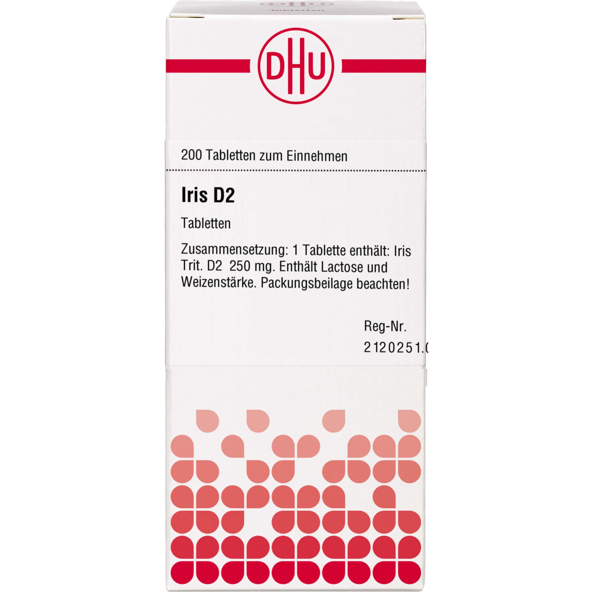 IRIS D 2 Tabletten