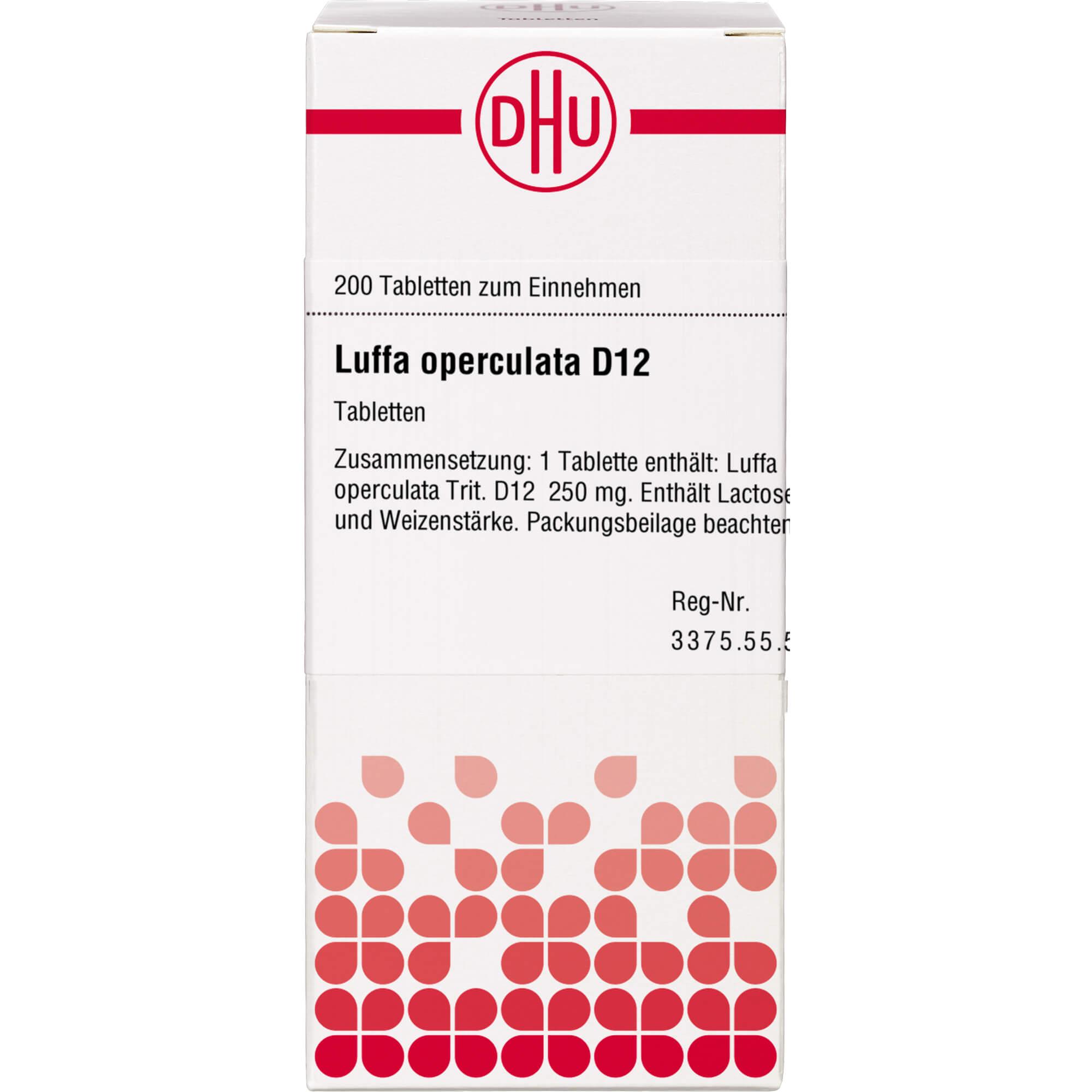 LUFFA OPERCULATA D 12 Tabletten