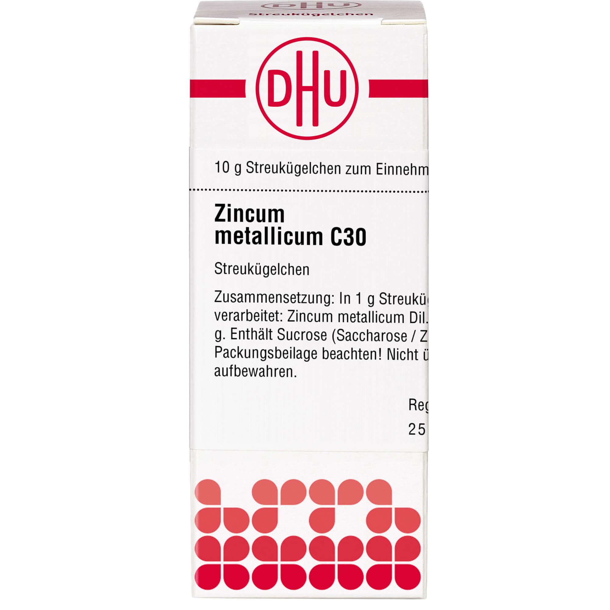 ZINCUM METALLICUM C 30 Globuli