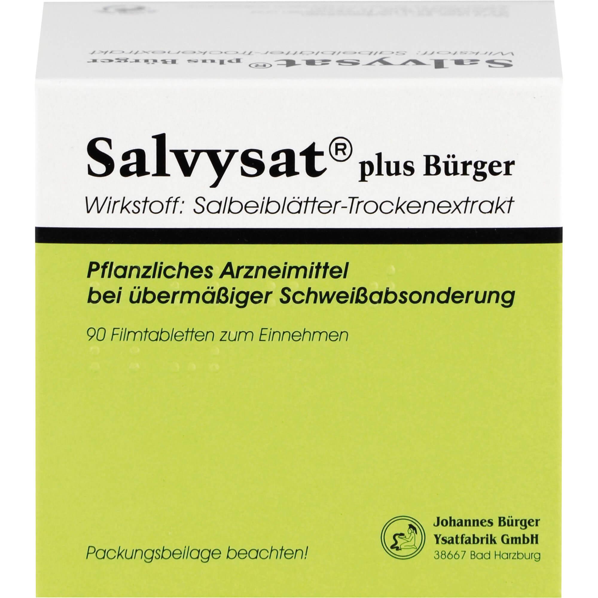 SALVYSAT plus Bürger 300 mg Filmtabletten
