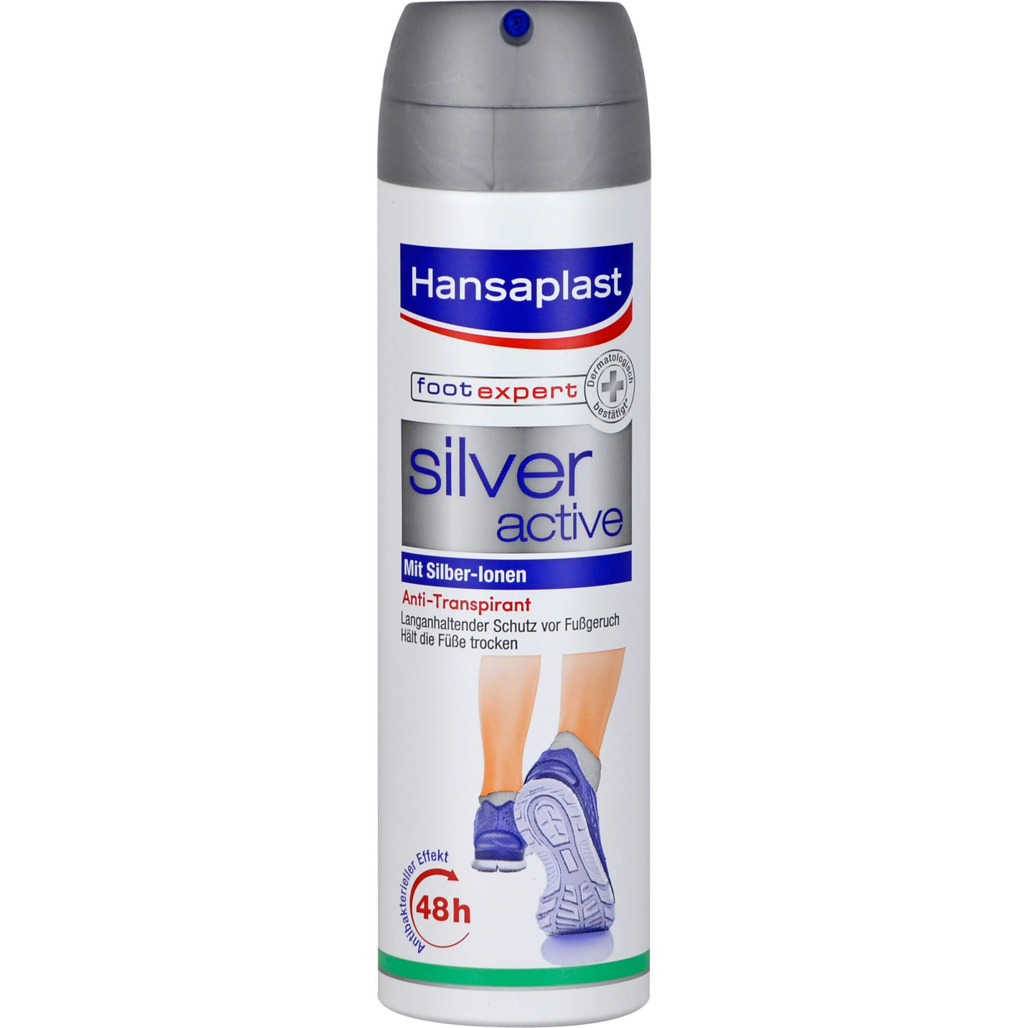 HANSAPLAST Fußspray Silver Active
