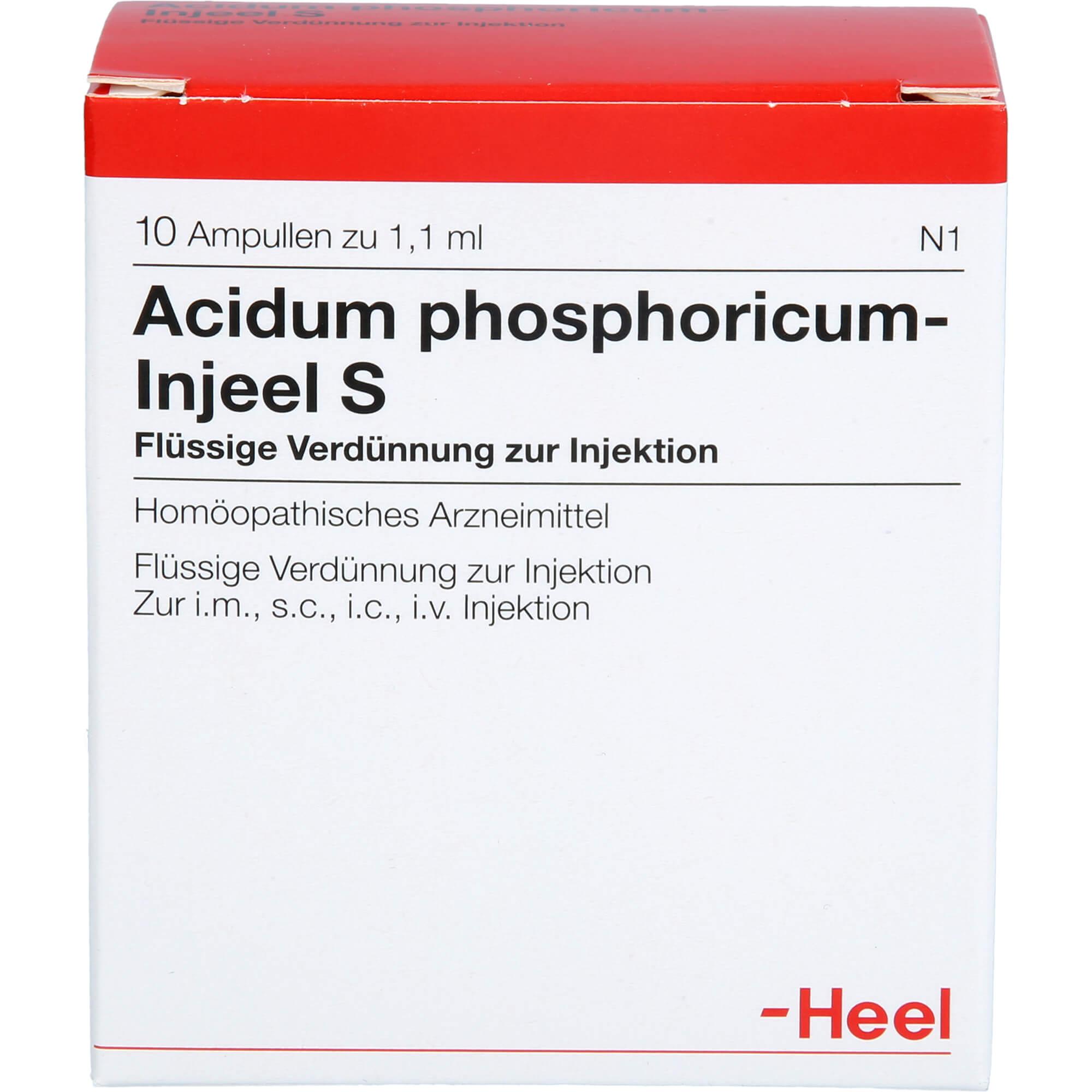 ACIDUM PHOSPHORICUM INJEEL S Ampullen