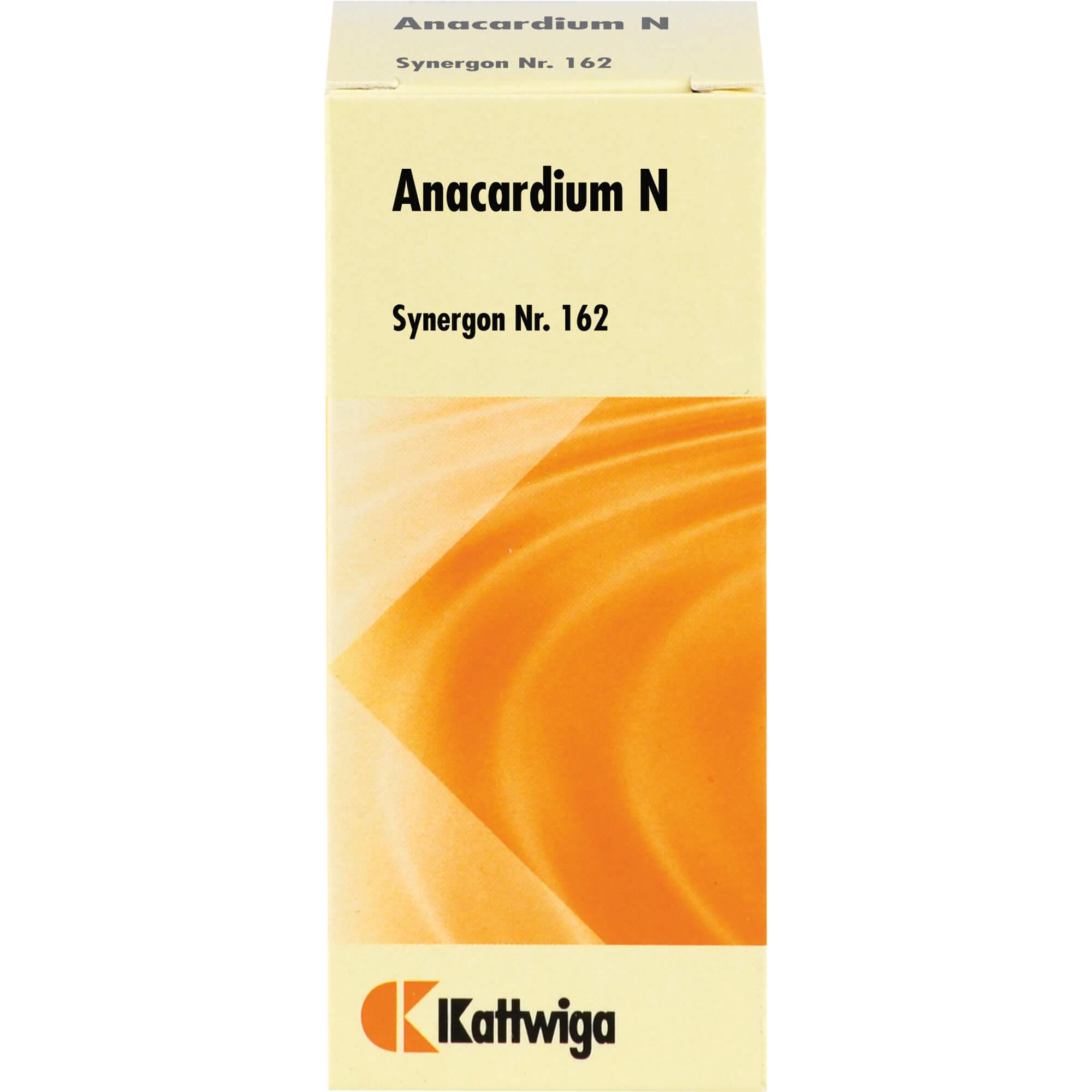 SYNERGON KOMPLEX 162 Anacardium N Tropfen