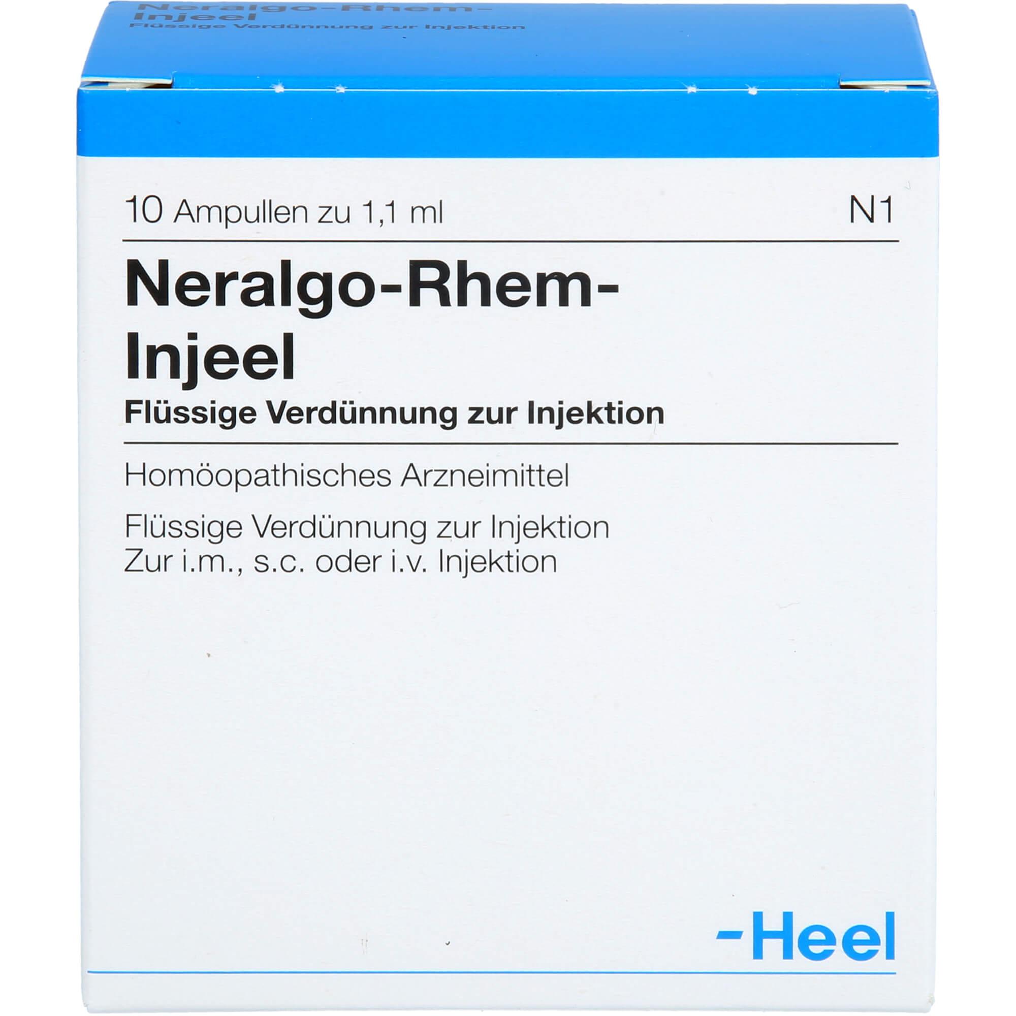 NERALGO Rhem Injeel Ampullen