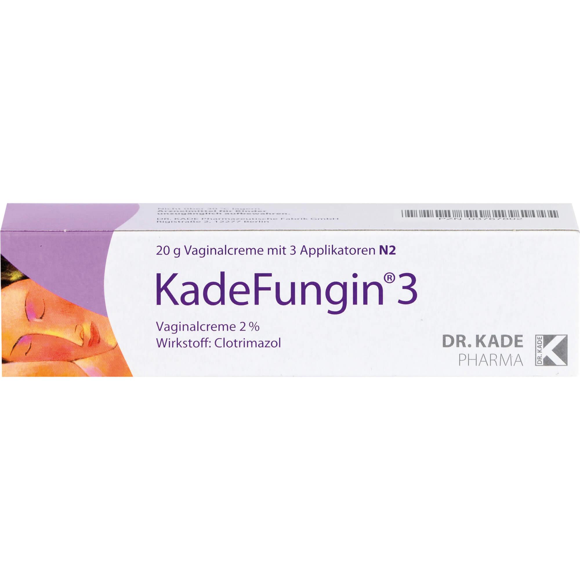 KADEFUNGIN 3 Vaginalcreme