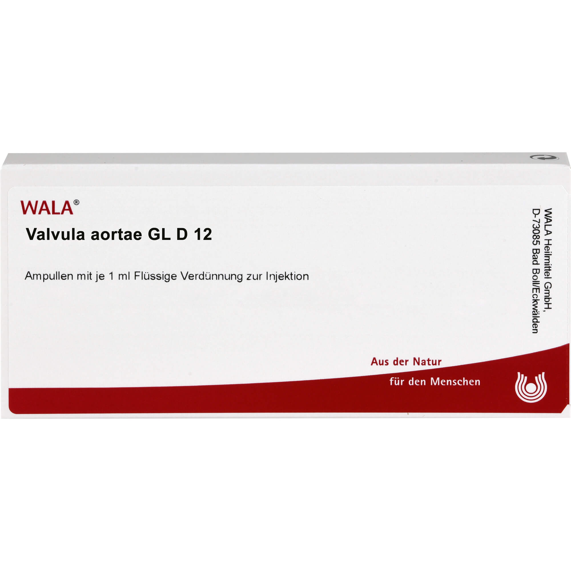VALVULA aortae GL D 12 Ampullen