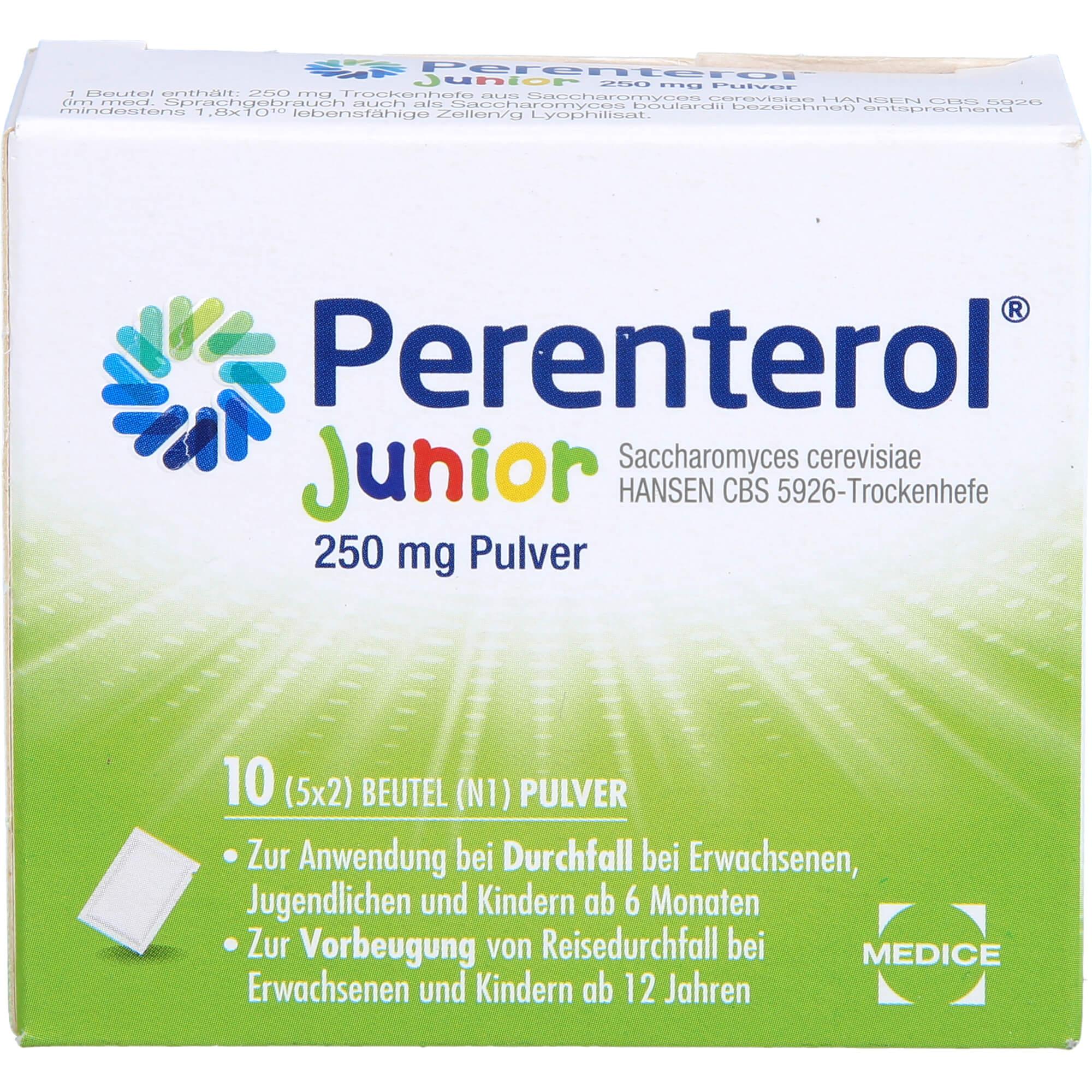 PERENTEROL Junior 250 mg Pulver Btl.