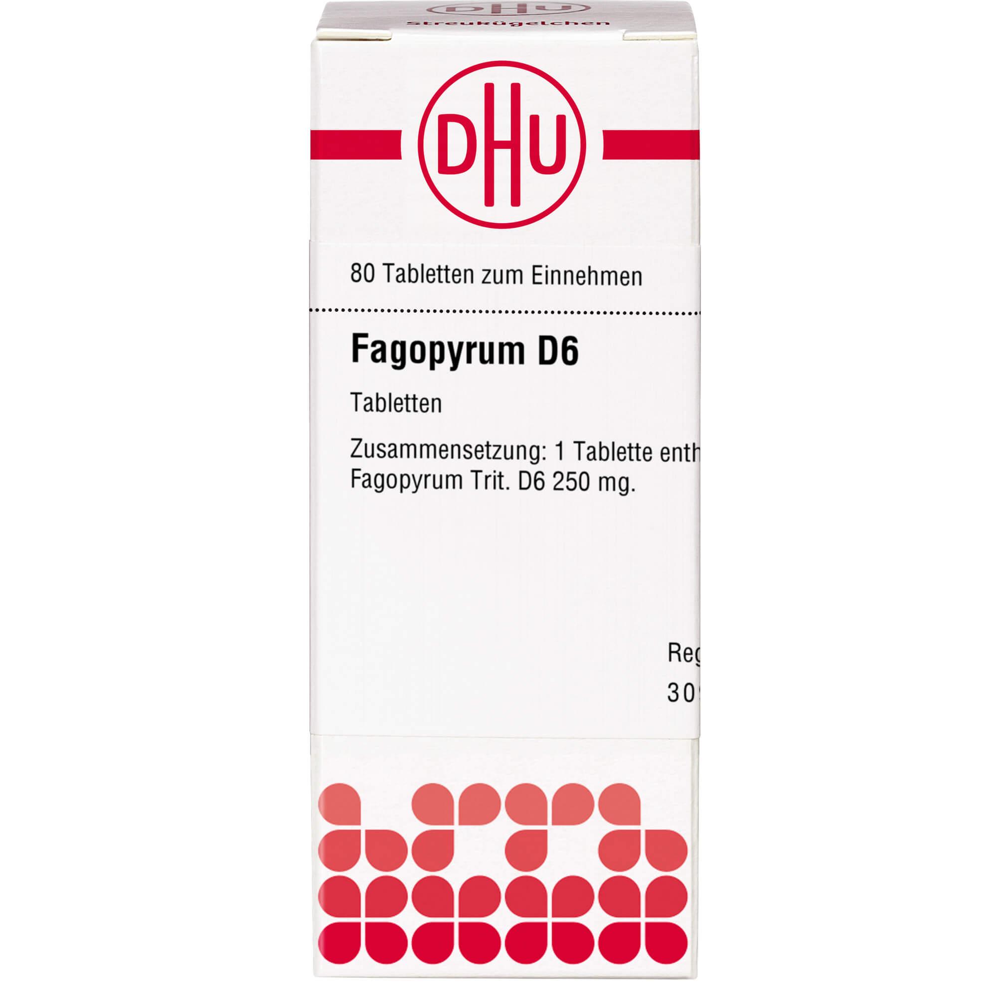 FAGOPYRUM D 6 Tabletten