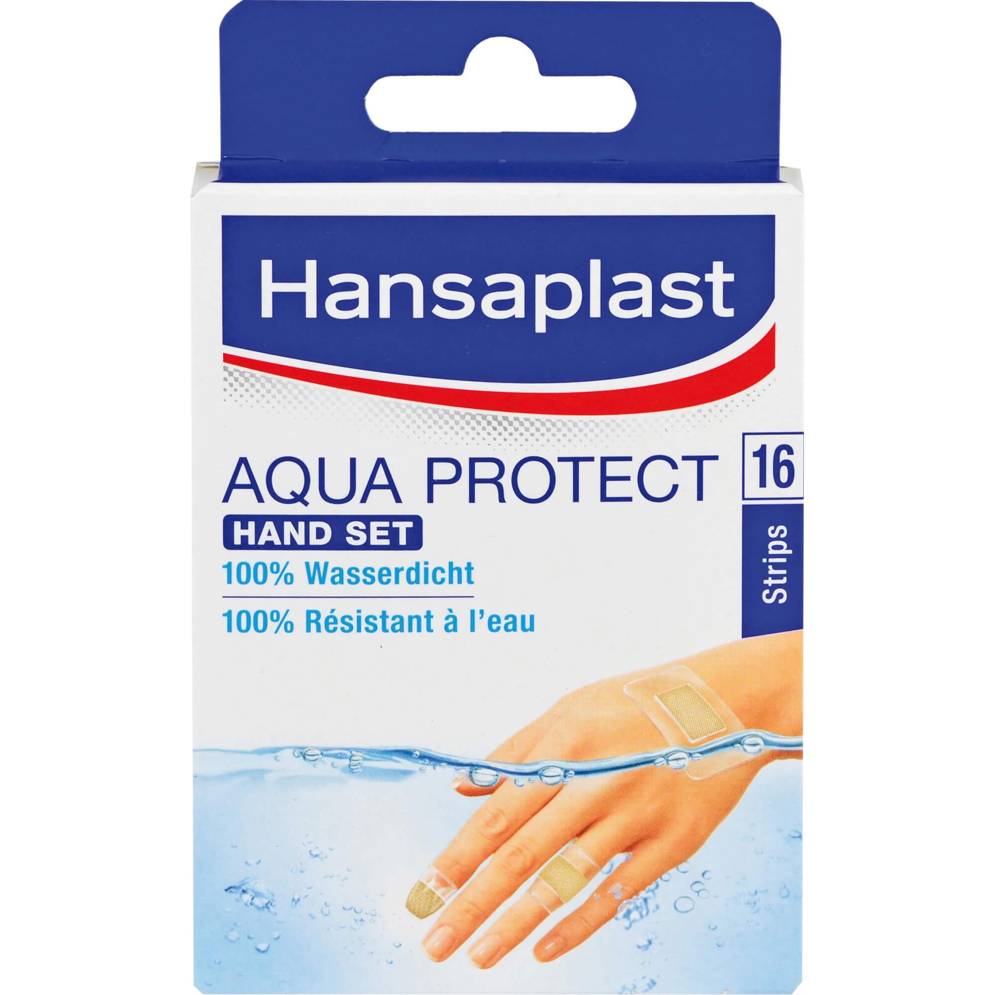 HANSAPLAST Aqua Protect Pflaster Hand Set