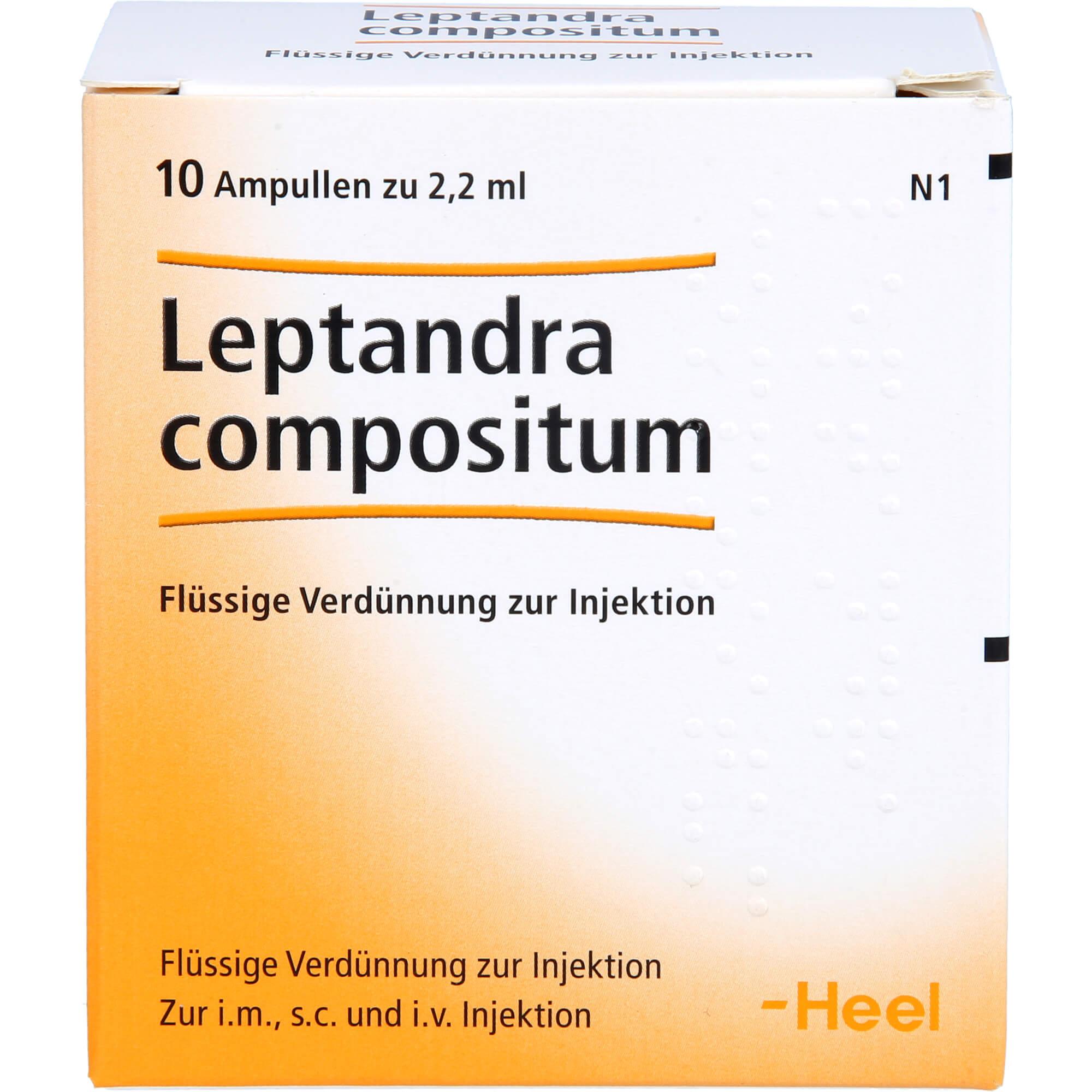 LEPTANDRA COMPOSITUM Ampullen