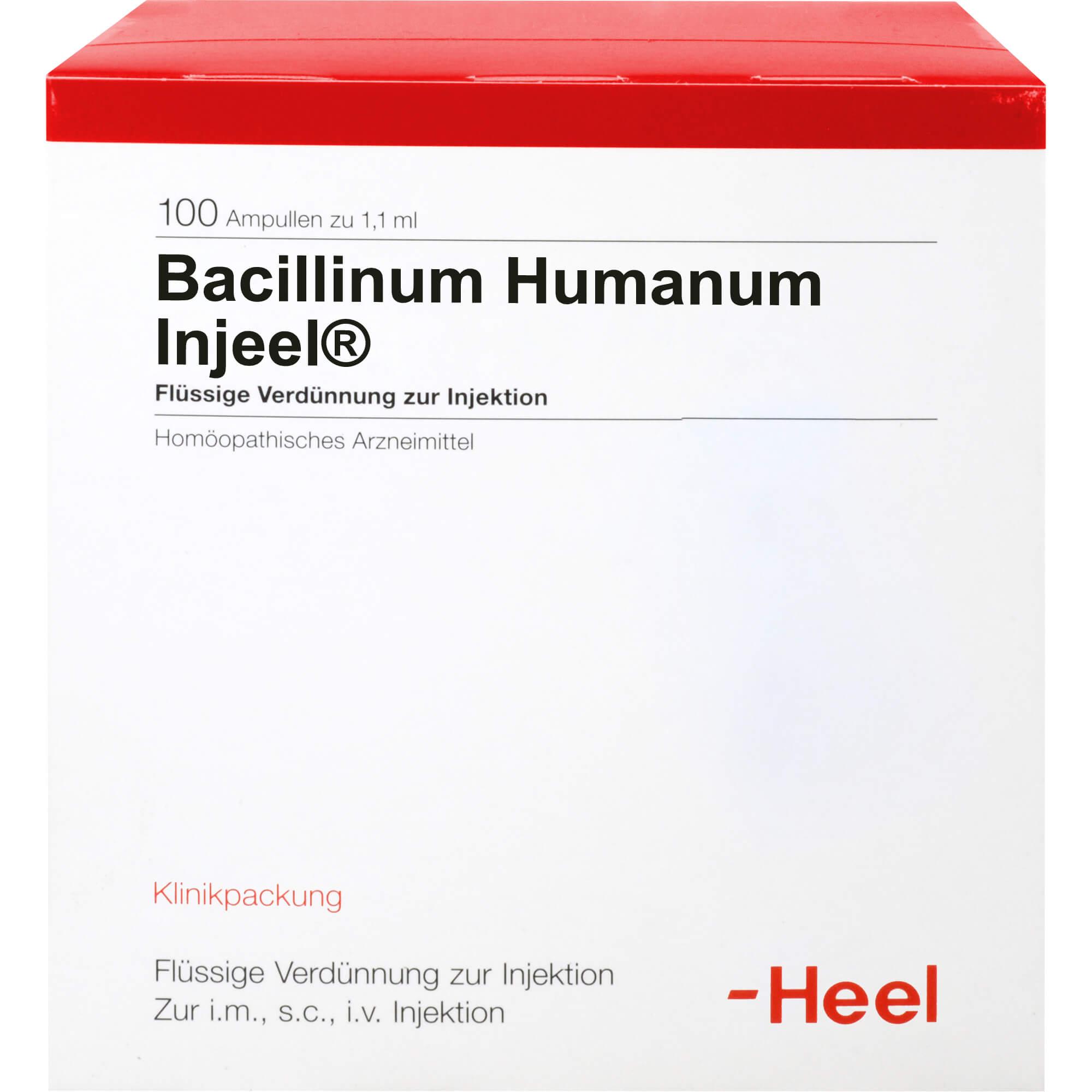 BACILLINUM humanum Injeel Ampullen