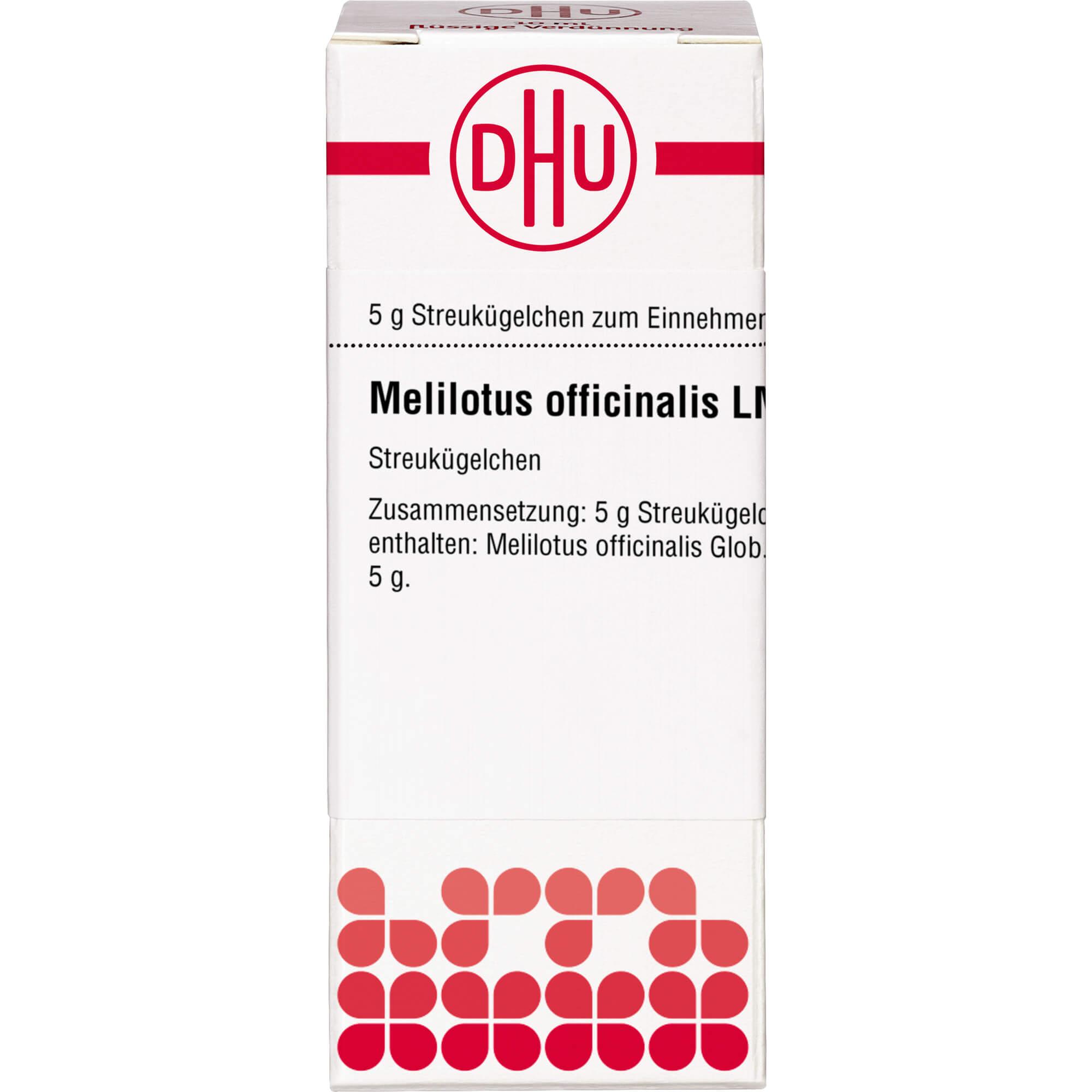 LM MELILOTUS officinalis XXX Globuli