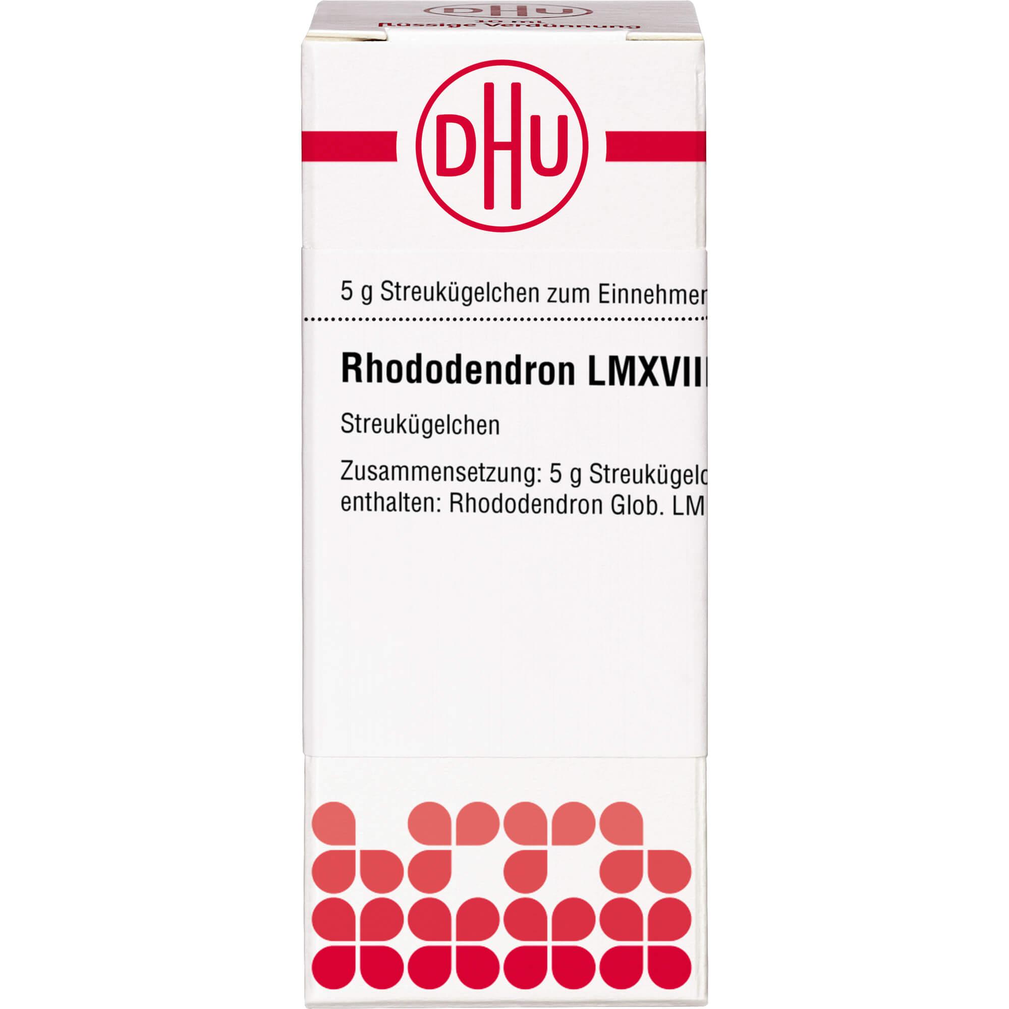 RHODODENDRON LM XVIII Globuli
