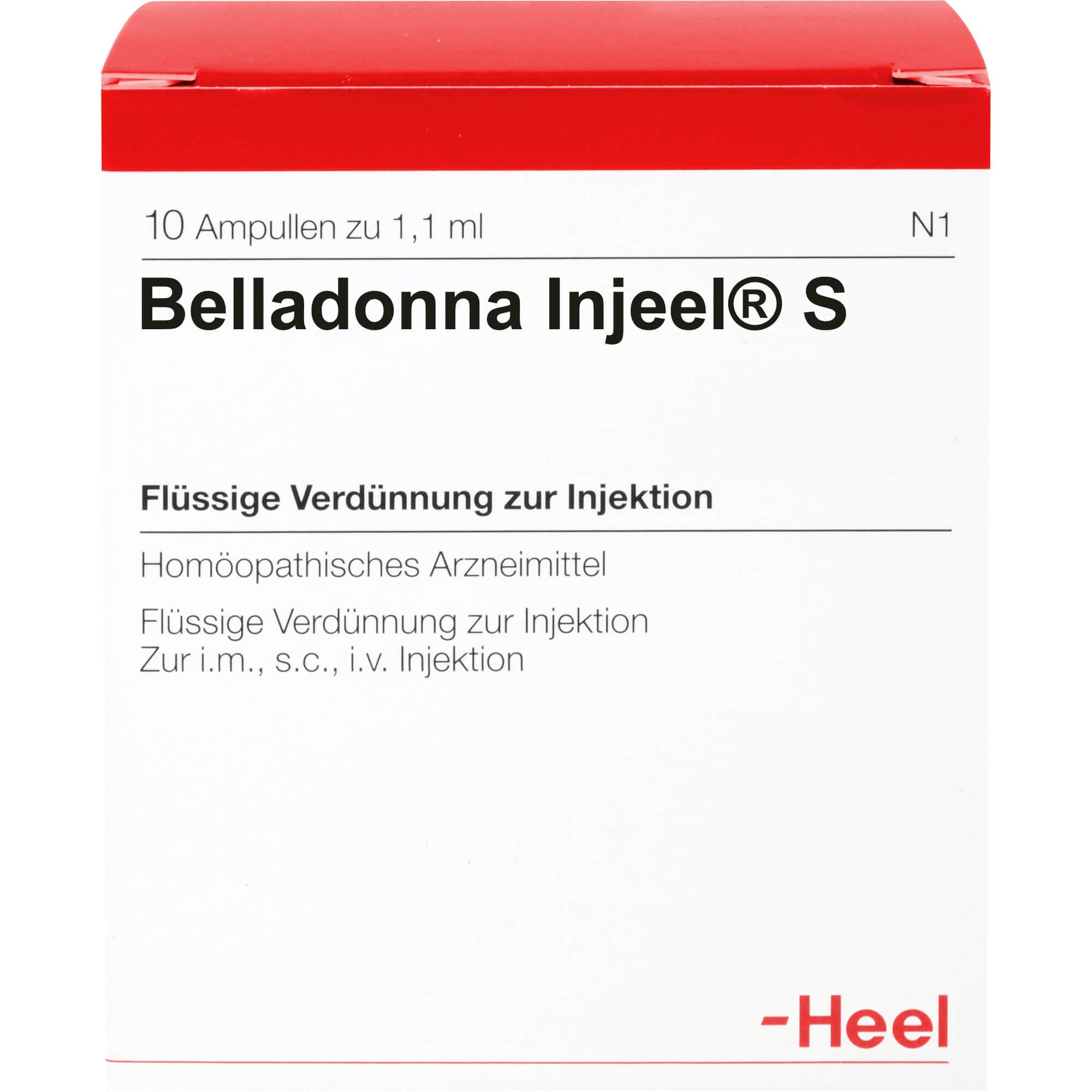 BELLADONNA INJEEL S Ampullen