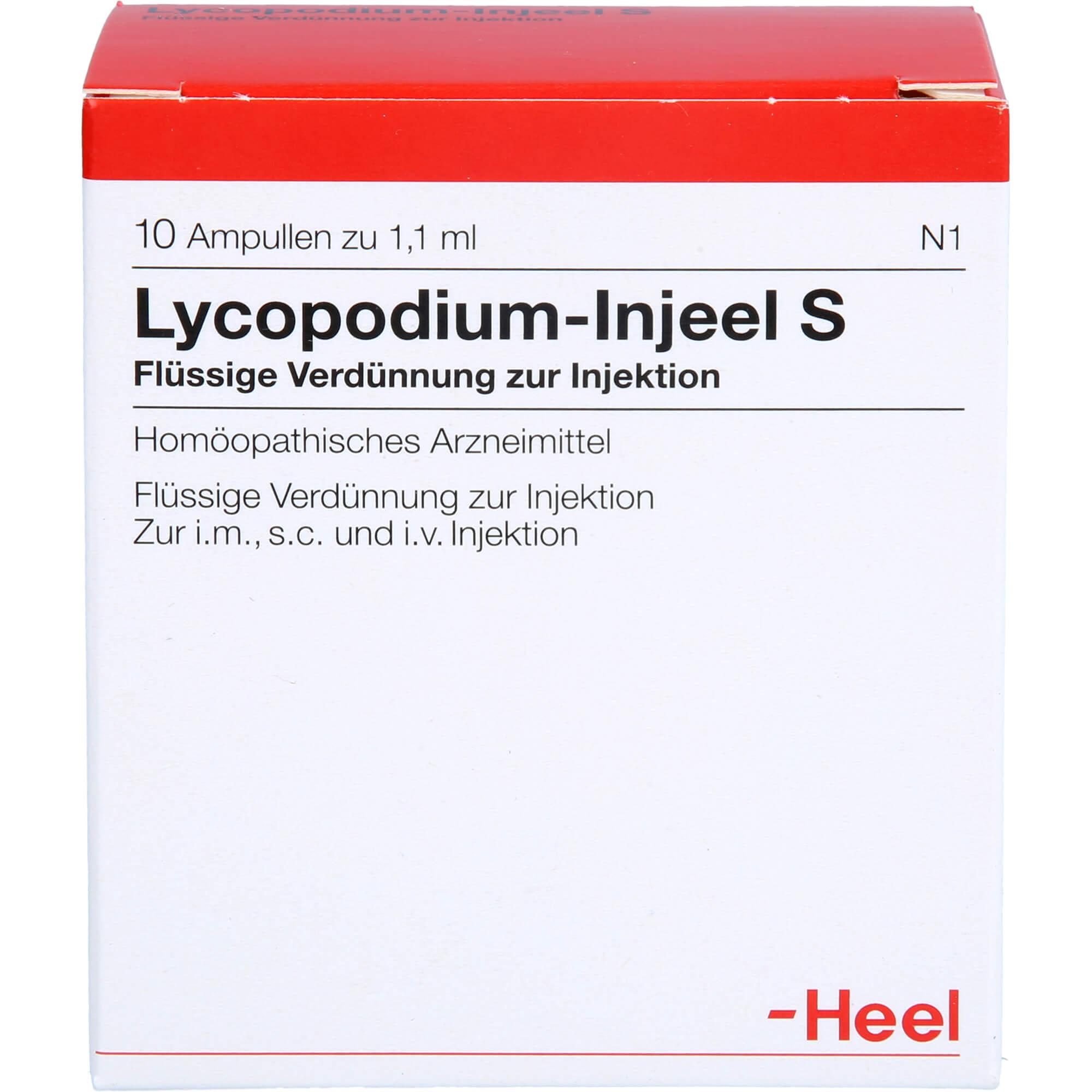 LYCOPODIUM INJEEL S Ampullen