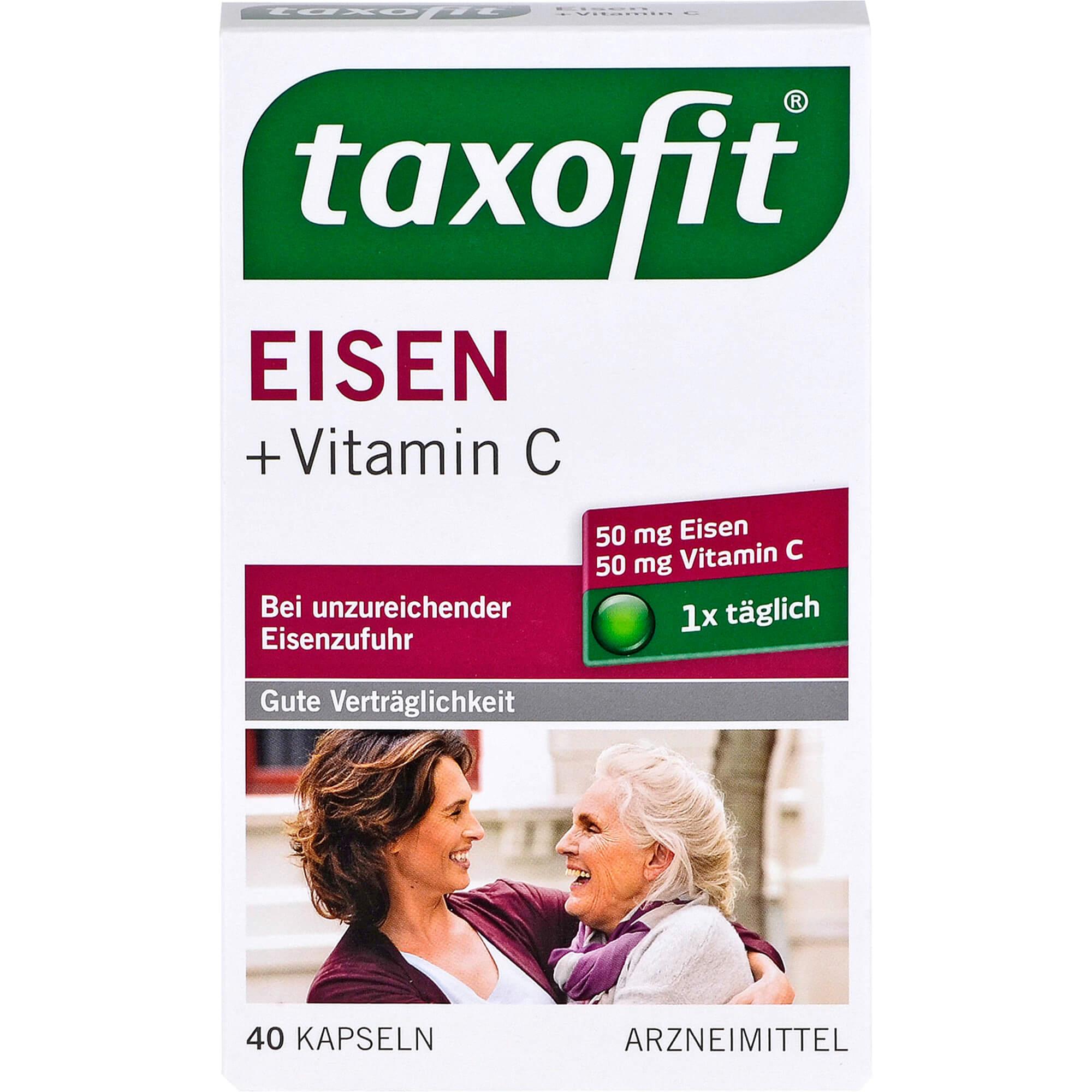 TAXOFIT Eisen+Vitamin C Weichkapseln