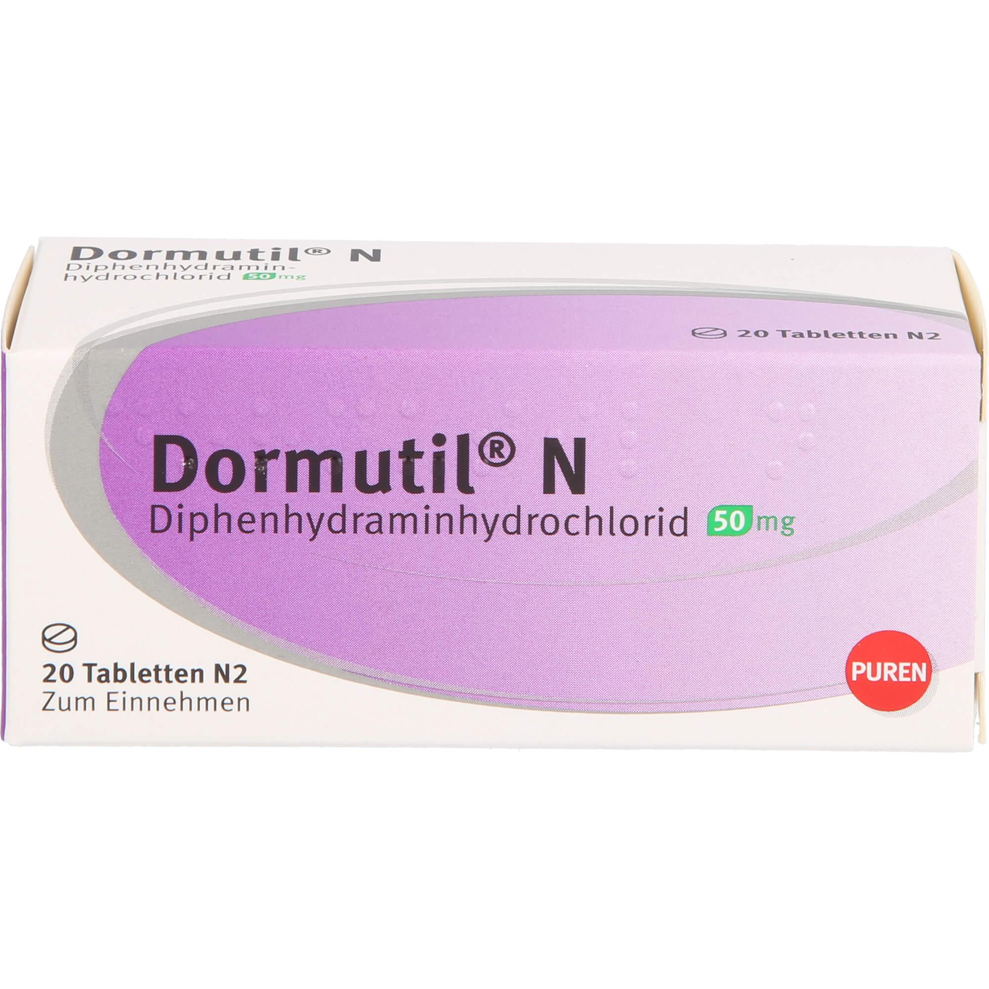 DORMUTIL N Tabletten