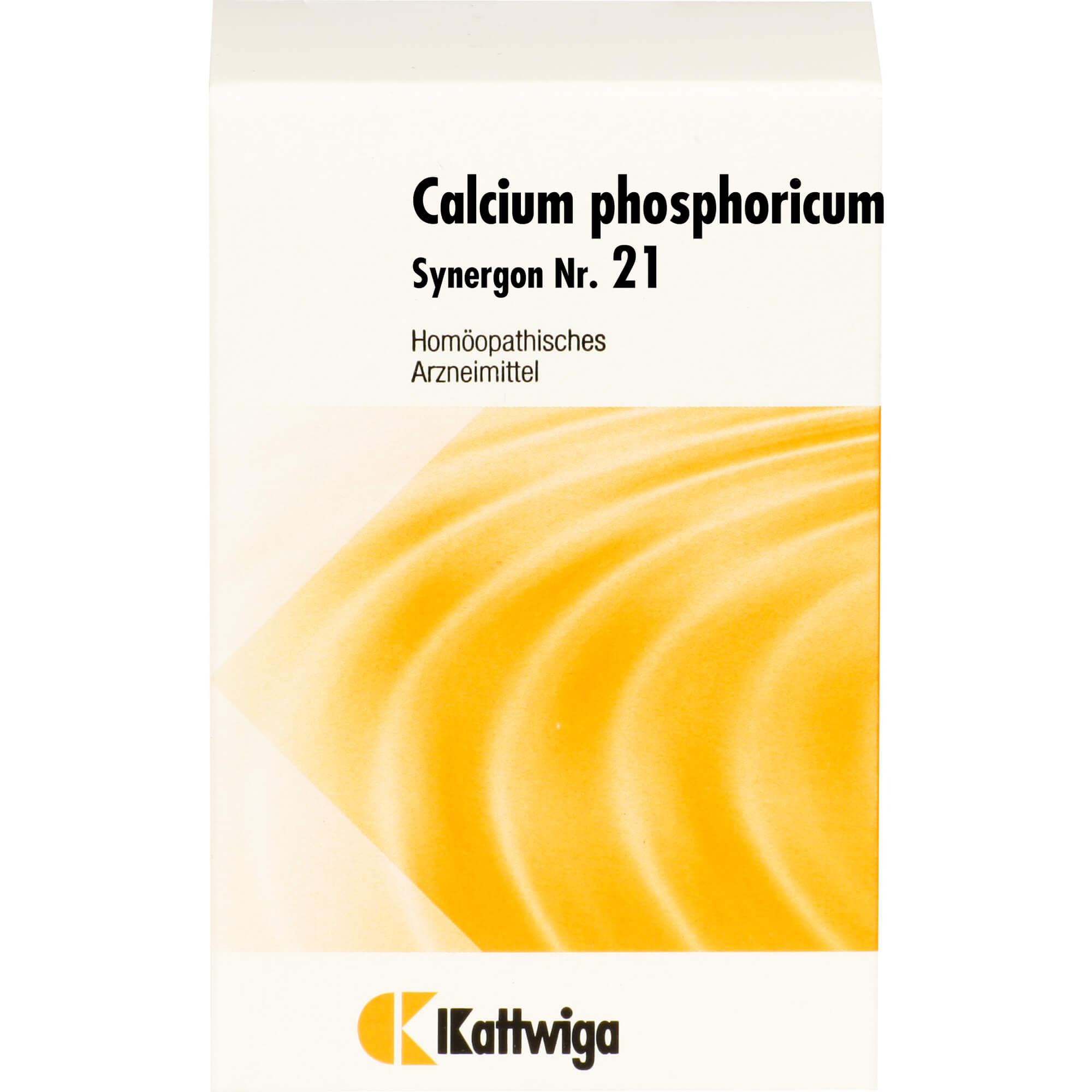 SYNERGON KOMPLEX 21 Calcium phosphoricum Tabletten