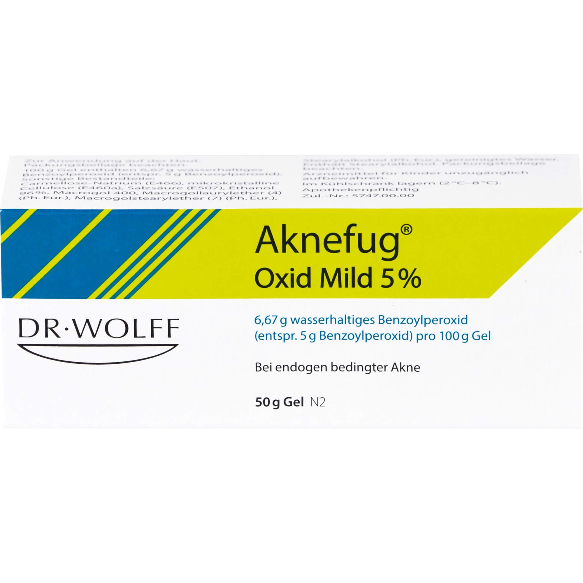 AKNEFUG oxid mild 5% Gel