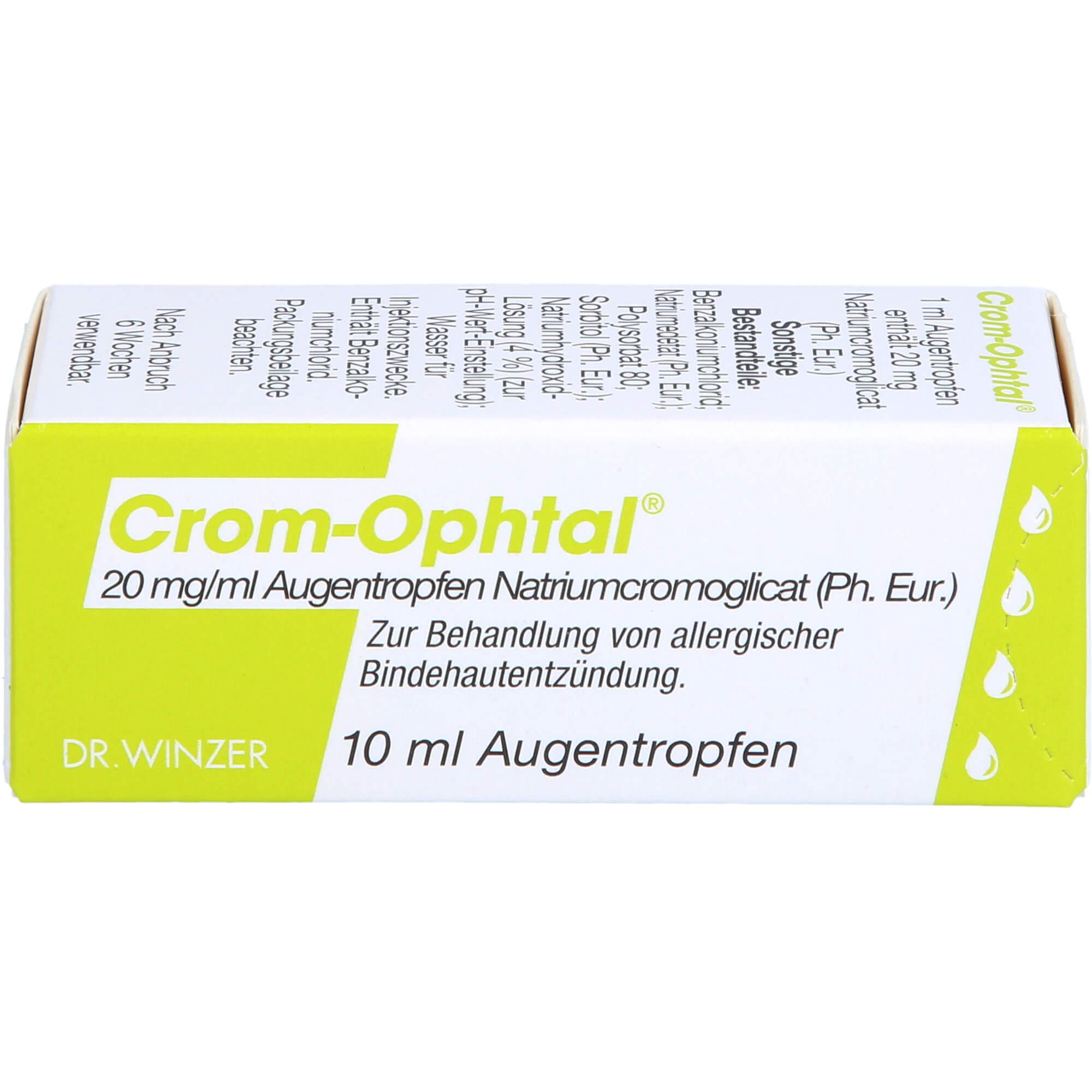 CROM-OPHTAL Augentropfen