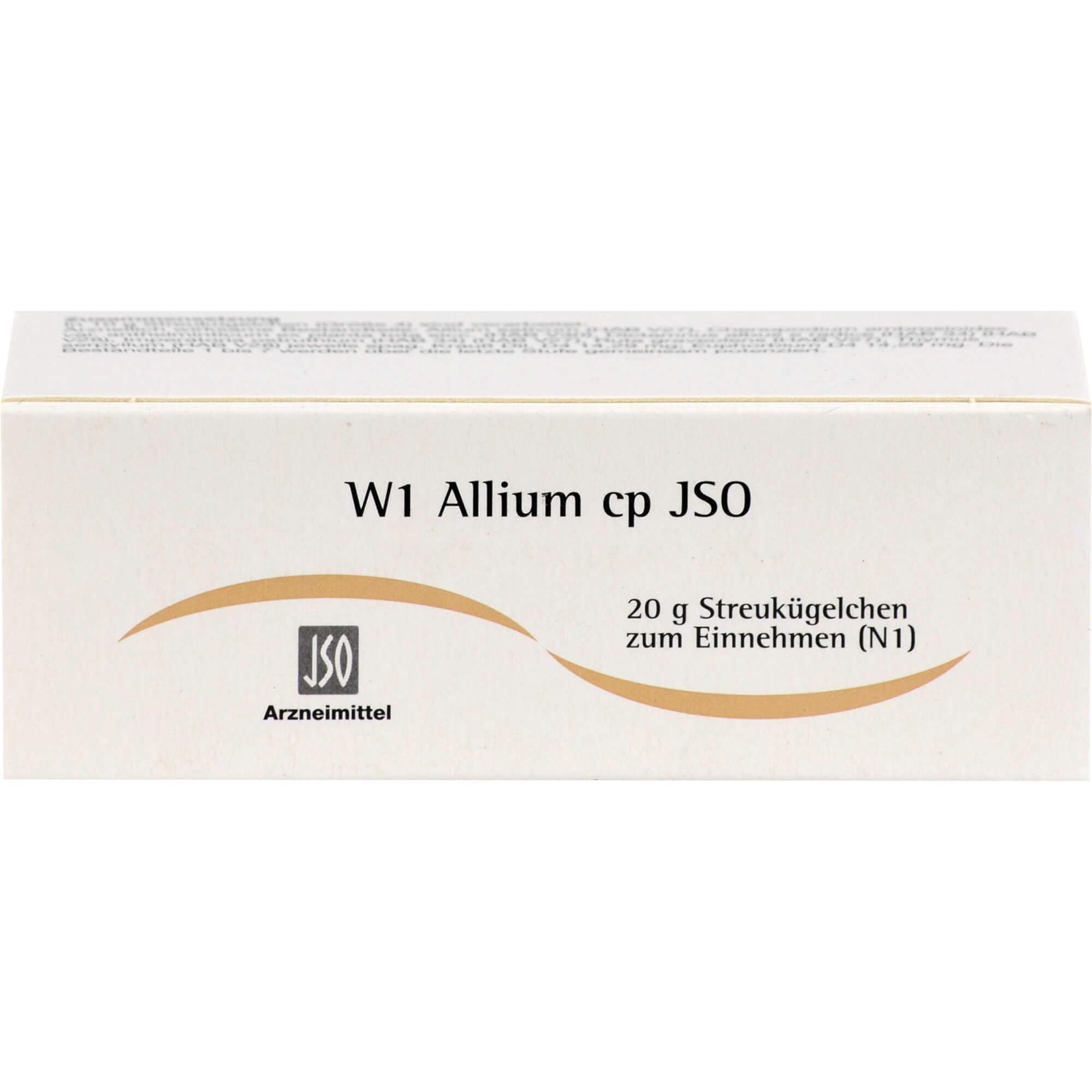 JSO W 1 Allium cp Globuli