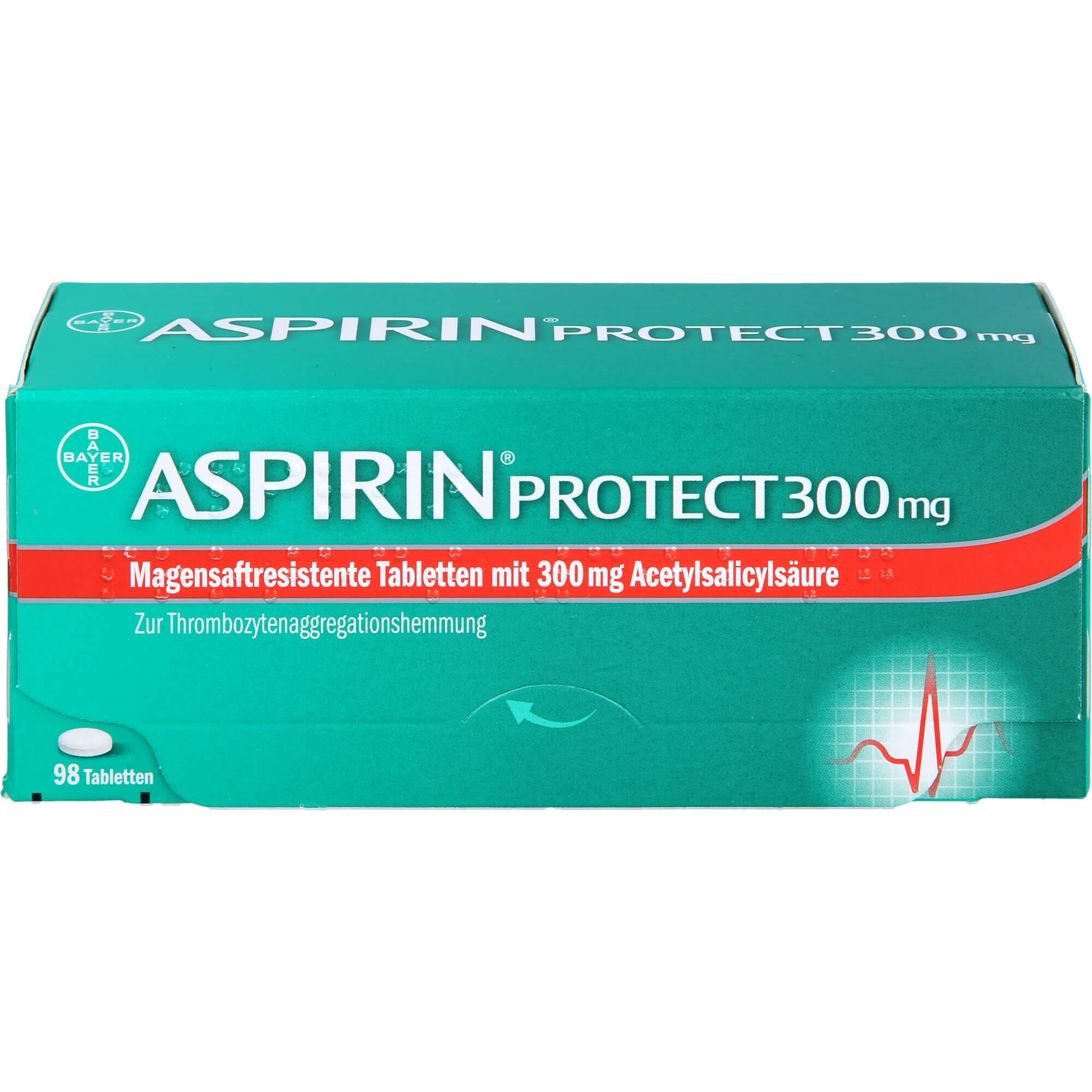 ASPIRIN Protect 300 mg magensaftres.Tabletten