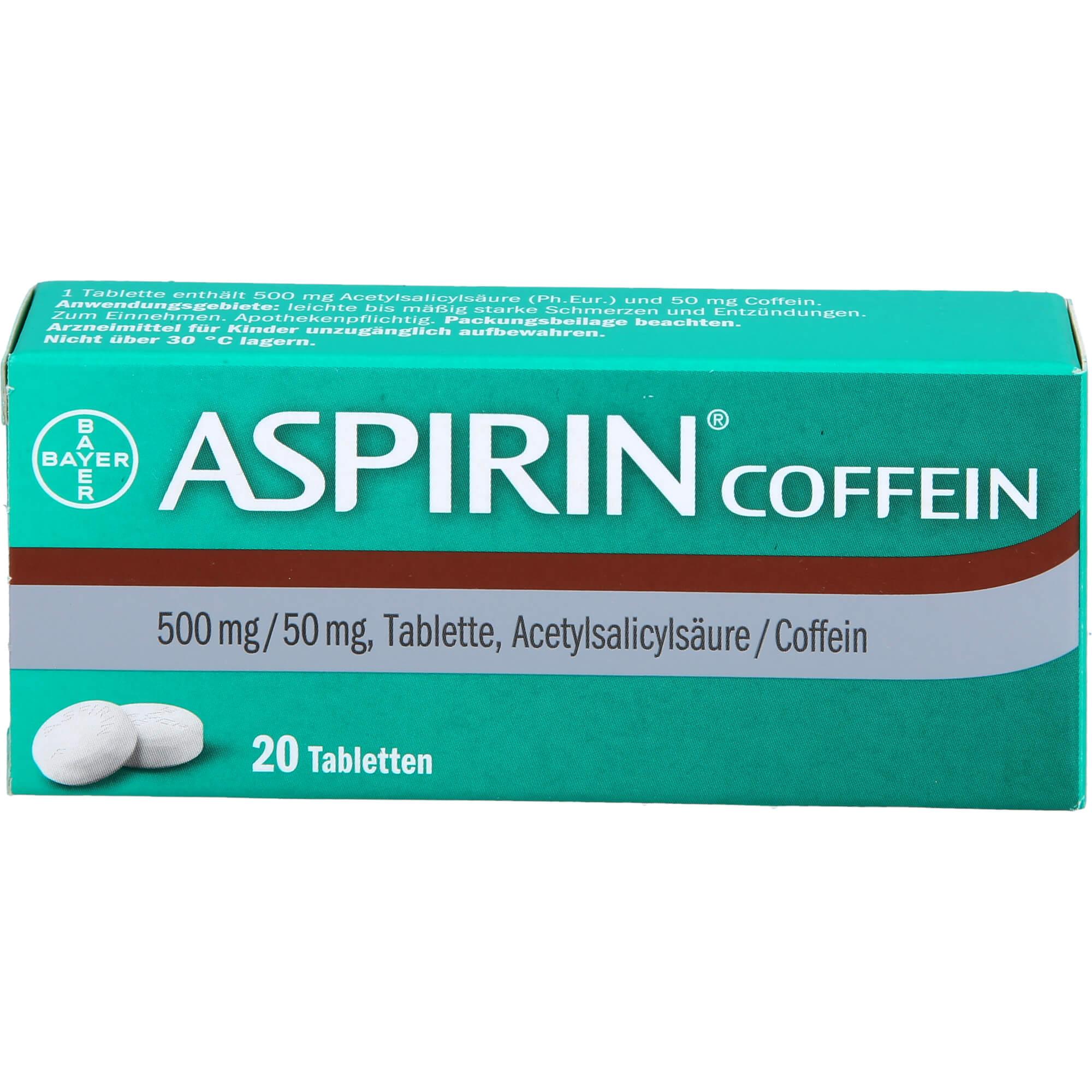 ASPIRIN Coffein Tabletten