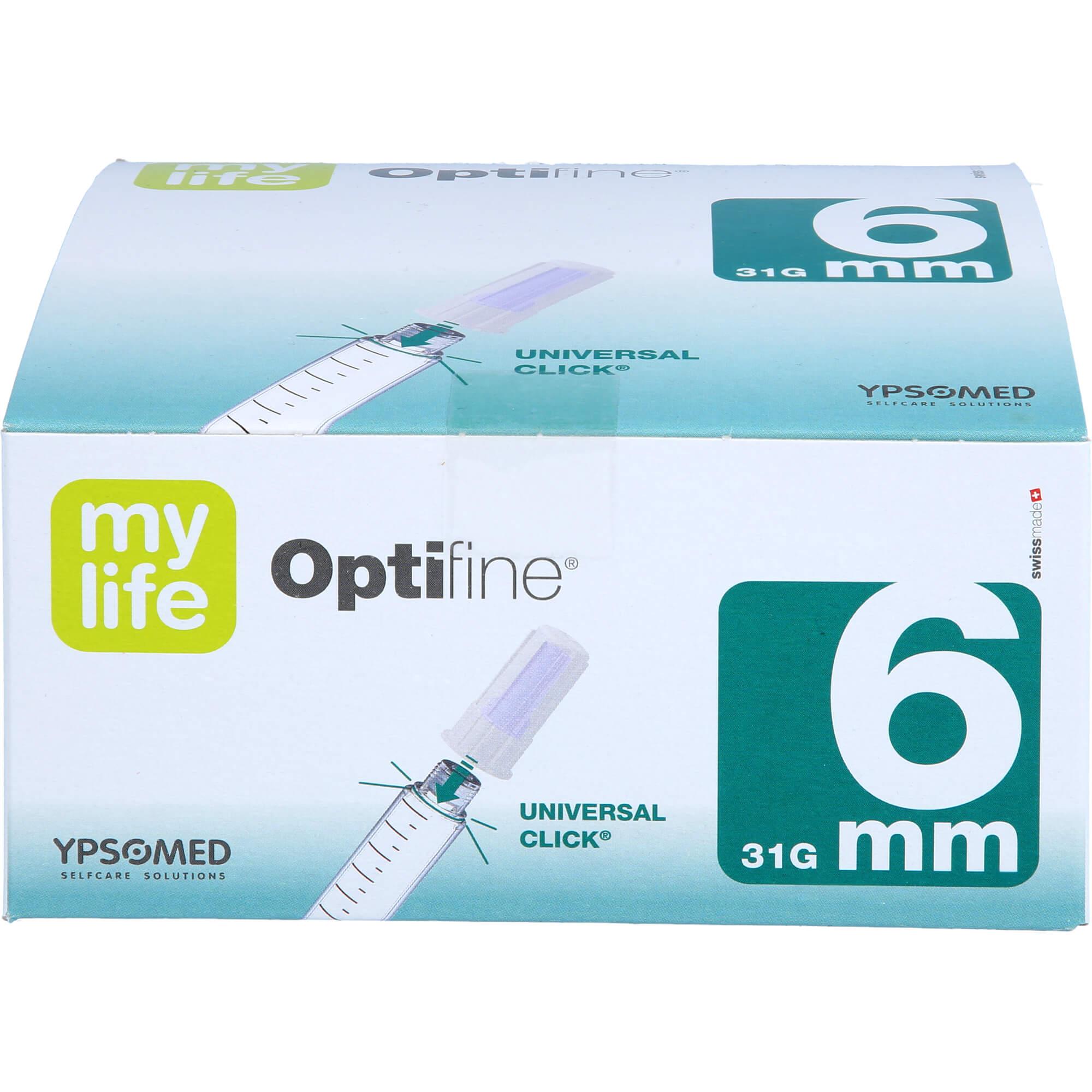 MYLIFE Optifine Pen-Nadeln 6 mm
