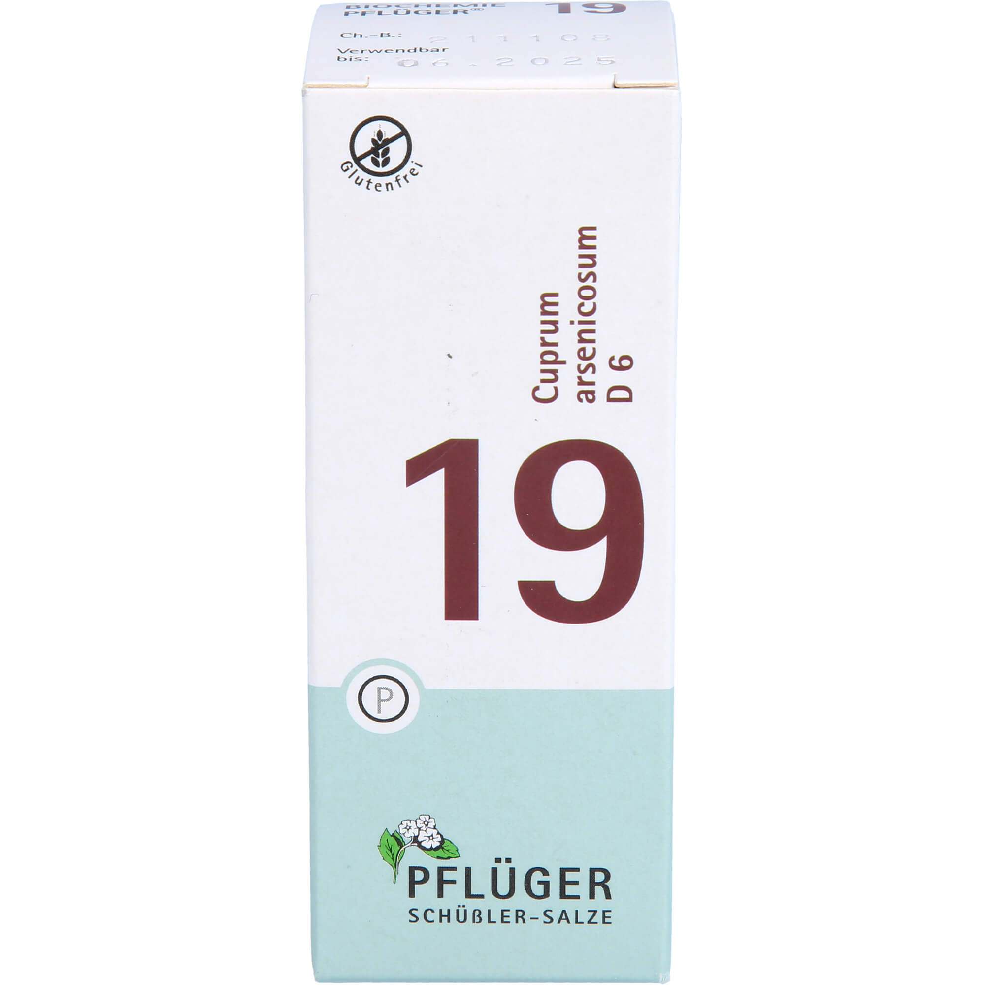 BIOCHEMIE Pflüger 19 Cuprum arsenicosum D 6 Tabl.