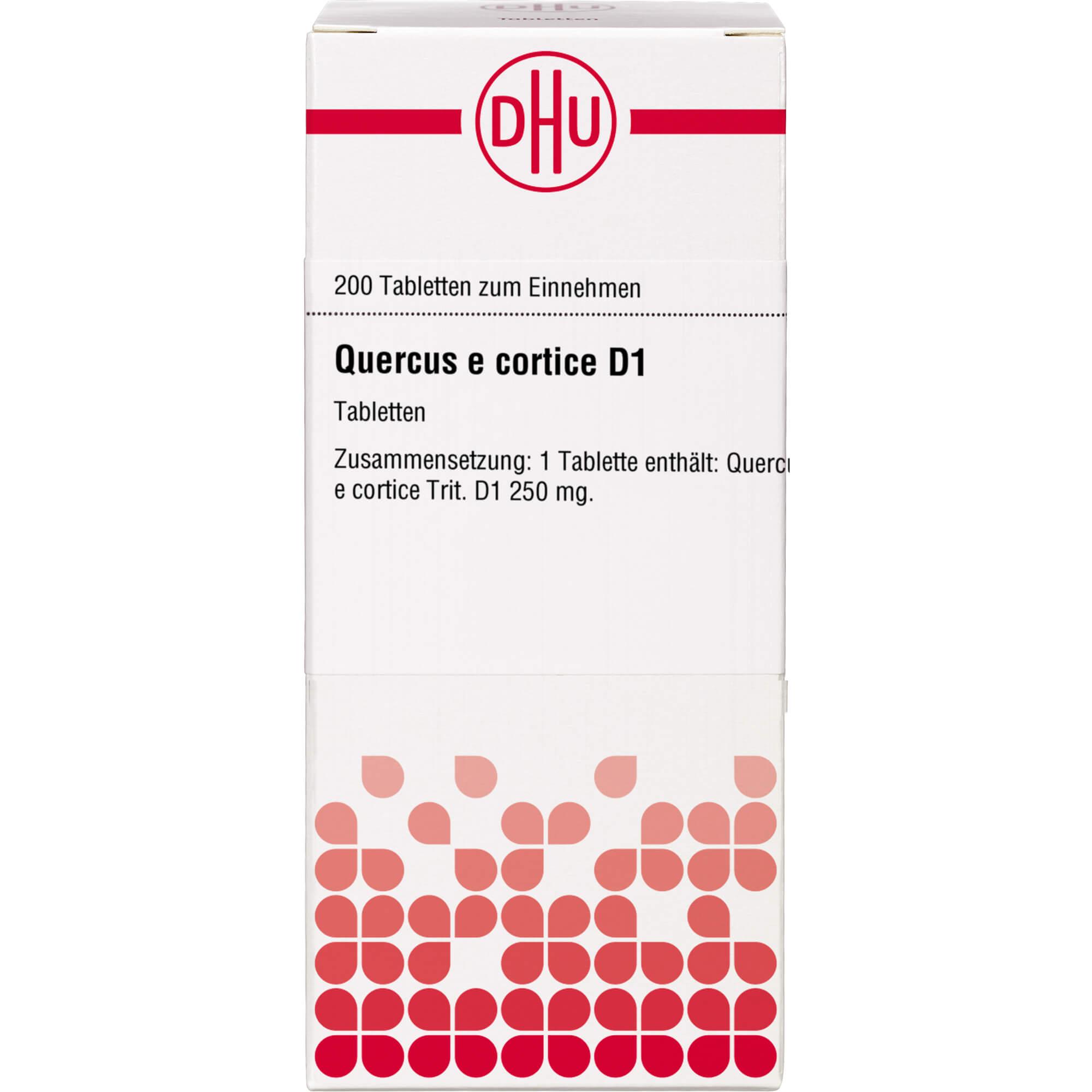 QUERCUS E CORTICE D 1 Tabletten