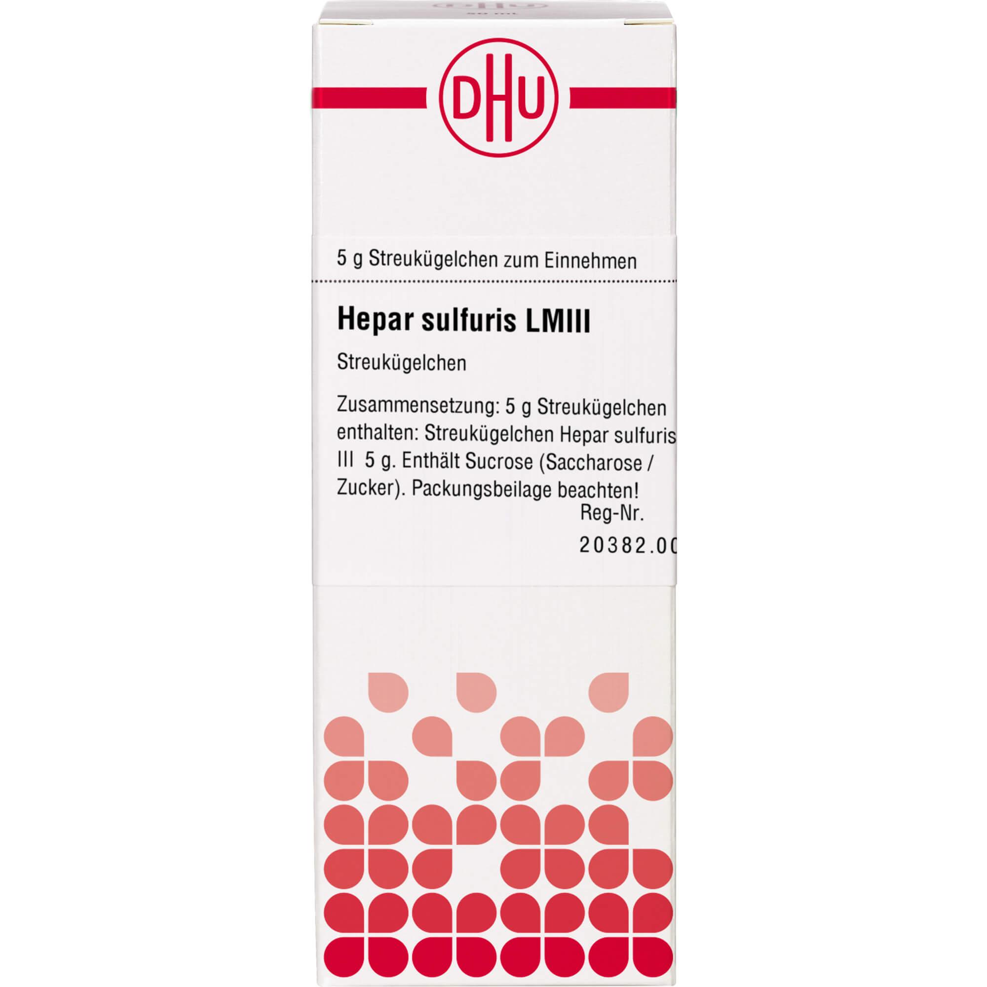 LM HEPAR sulfuris III Globuli