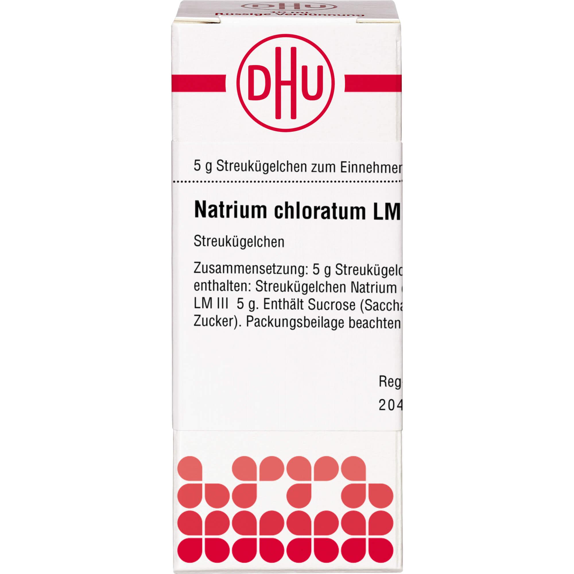 NATRIUM CHLORATUM LM III Globuli