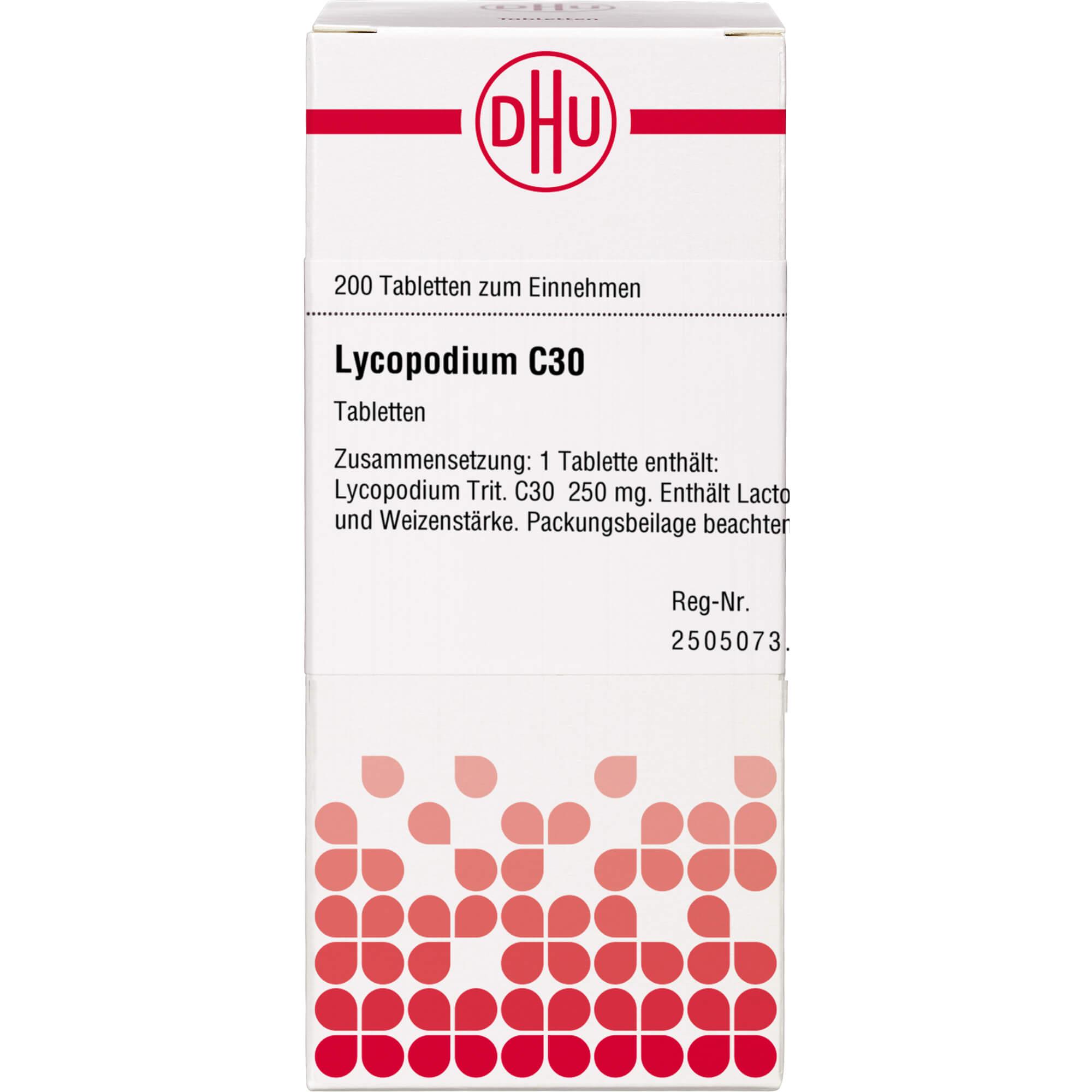 LYCOPODIUM C 30 Tabletten